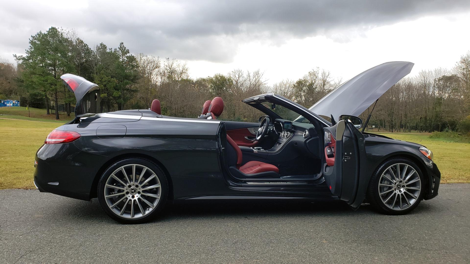 Used 2019 Mercedes-Benz C-CLASS C 300 CABRIOLET / PREM PKG / NAV / BURMESTER / MULTIMEDIA for sale $49,995 at Formula Imports in Charlotte NC 28227 59
