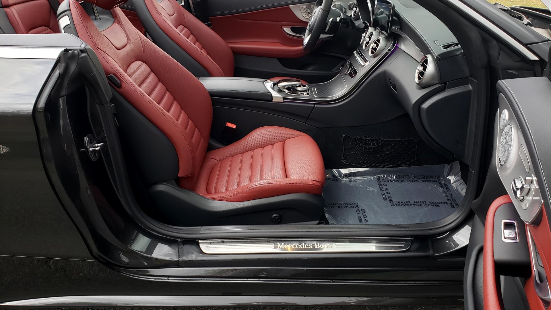 Used 2019 Mercedes-Benz C-CLASS C 300 CABRIOLET / PREM PKG / NAV / BURMESTER / MULTIMEDIA for sale $49,995 at Formula Imports in Charlotte NC 28227 60