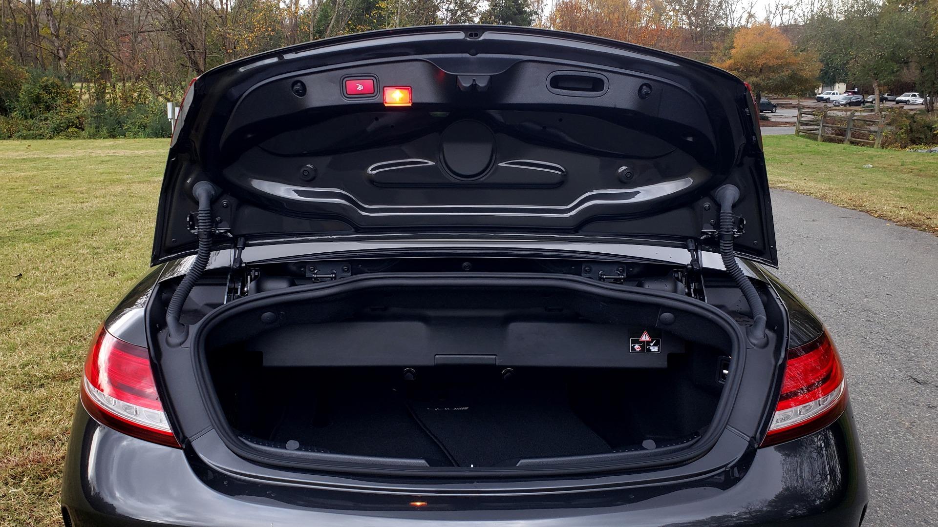 Used 2019 Mercedes-Benz C-CLASS C 300 CABRIOLET / PREM PKG / NAV / BURMESTER / MULTIMEDIA for sale Sold at Formula Imports in Charlotte NC 28227 67