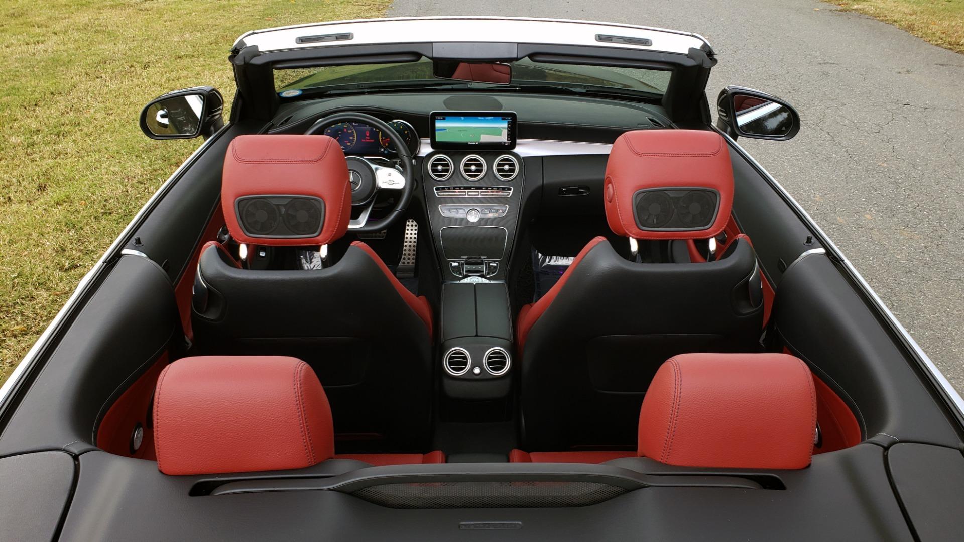 Used 2019 Mercedes-Benz C-CLASS C 300 CABRIOLET / PREM PKG / NAV / BURMESTER / MULTIMEDIA for sale Sold at Formula Imports in Charlotte NC 28227 69