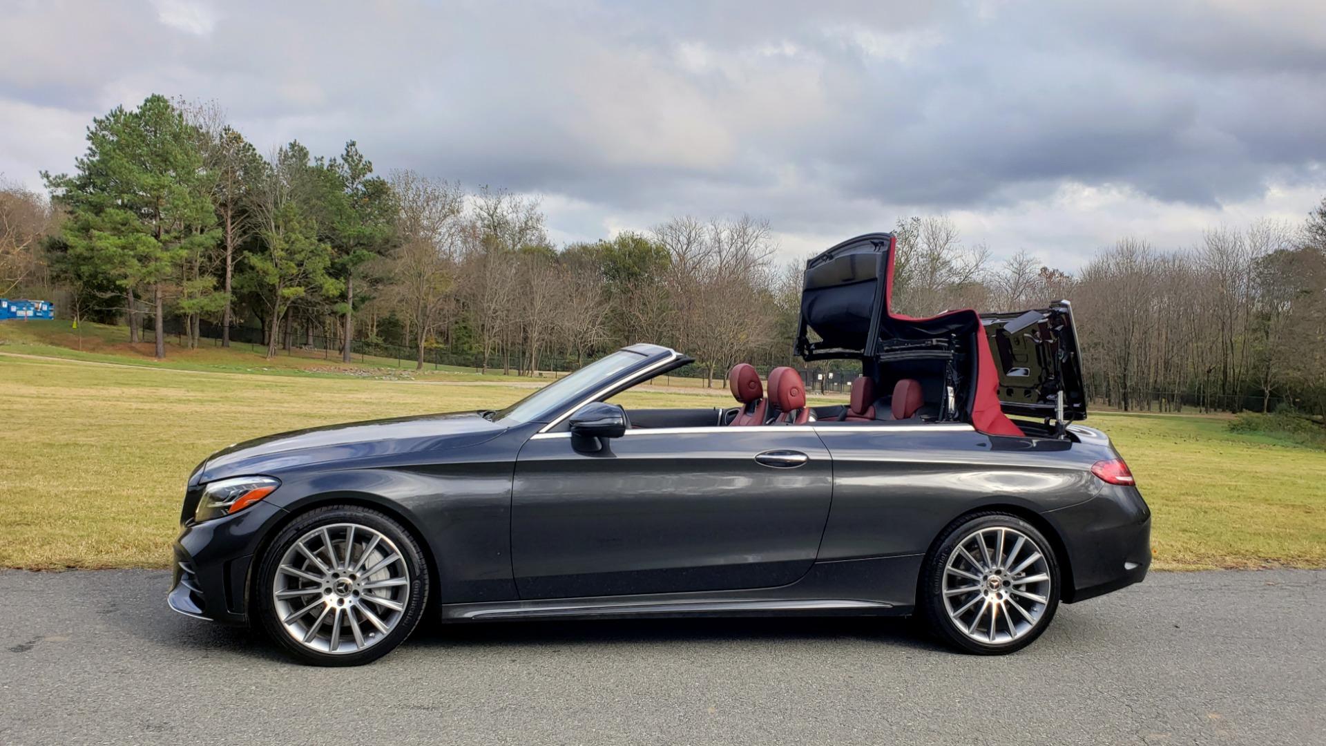 Used 2019 Mercedes-Benz C-CLASS C 300 CABRIOLET / PREM PKG / NAV / BURMESTER / MULTIMEDIA for sale Sold at Formula Imports in Charlotte NC 28227 7