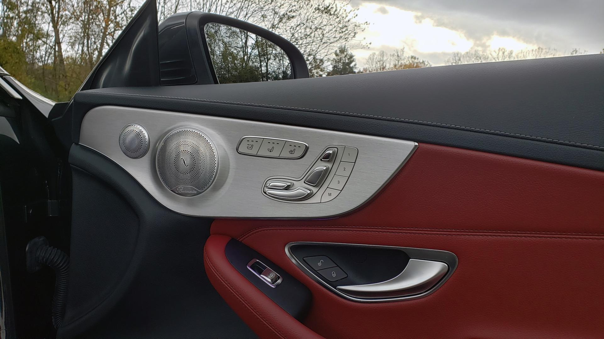 Used 2019 Mercedes-Benz C-CLASS C 300 CABRIOLET / PREM PKG / NAV / BURMESTER / MULTIMEDIA for sale Sold at Formula Imports in Charlotte NC 28227 77
