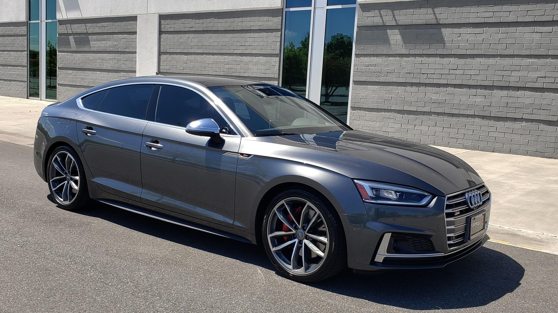Used 2018 Audi S5 SPORTBACK PRESTIGE S-SPORT / NAV / SUNROOF / HUD / B&O SND / REARVIEW for sale $48,995 at Formula Imports in Charlotte NC 28227 12