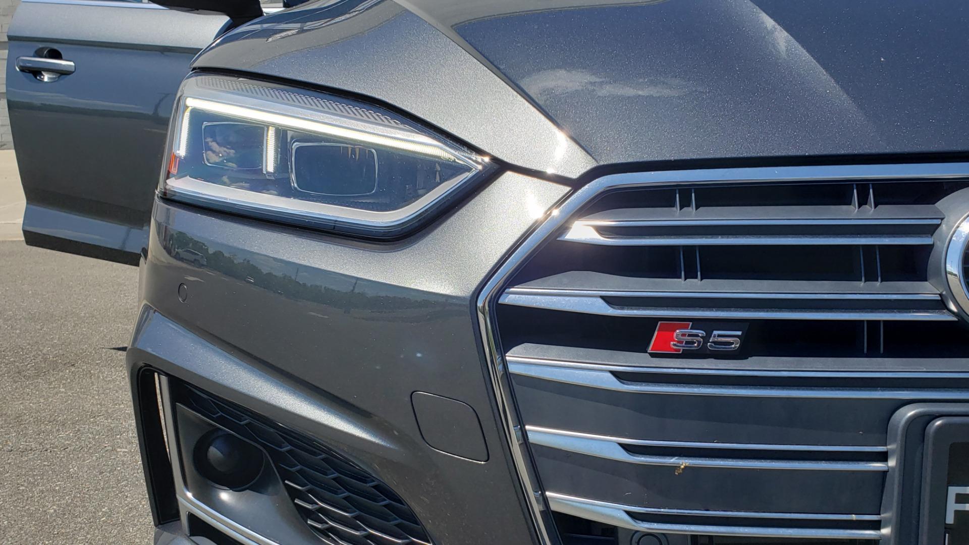 Used 2018 Audi S5 SPORTBACK PRESTIGE S-SPORT / NAV / SUNROOF / HUD / B&O SND / REARVIEW for sale $48,995 at Formula Imports in Charlotte NC 28227 22