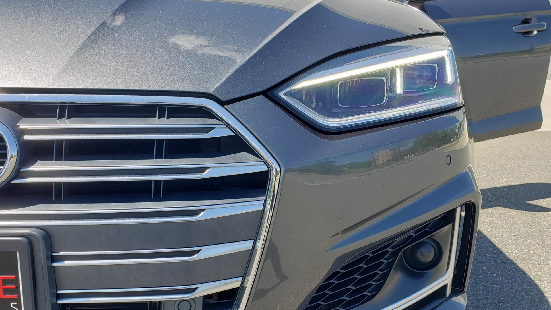 Used 2018 Audi S5 SPORTBACK PRESTIGE S-SPORT / NAV / SUNROOF / HUD / B&O SND / REARVIEW for sale $48,995 at Formula Imports in Charlotte NC 28227 23