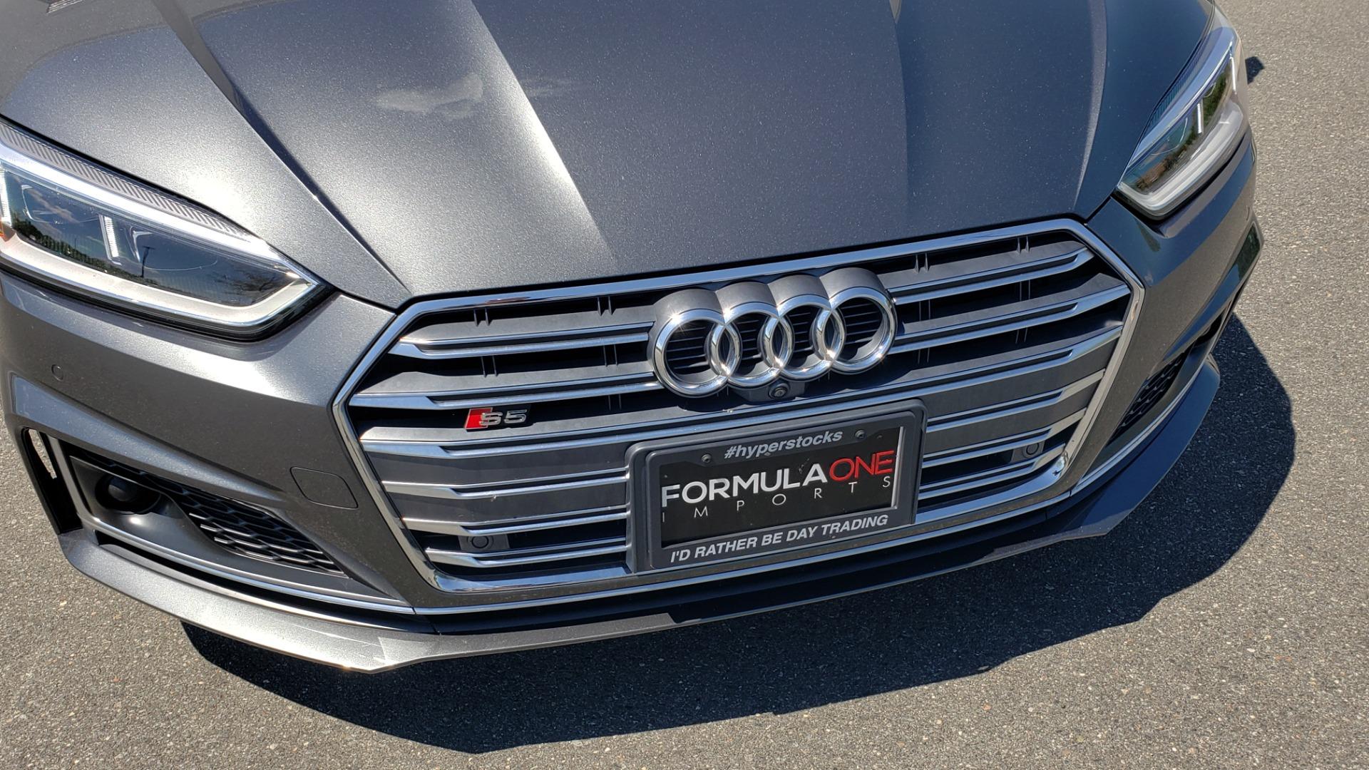 Used 2018 Audi S5 SPORTBACK PRESTIGE S-SPORT / NAV / SUNROOF / HUD / B&O SND / REARVIEW for sale $48,995 at Formula Imports in Charlotte NC 28227 24