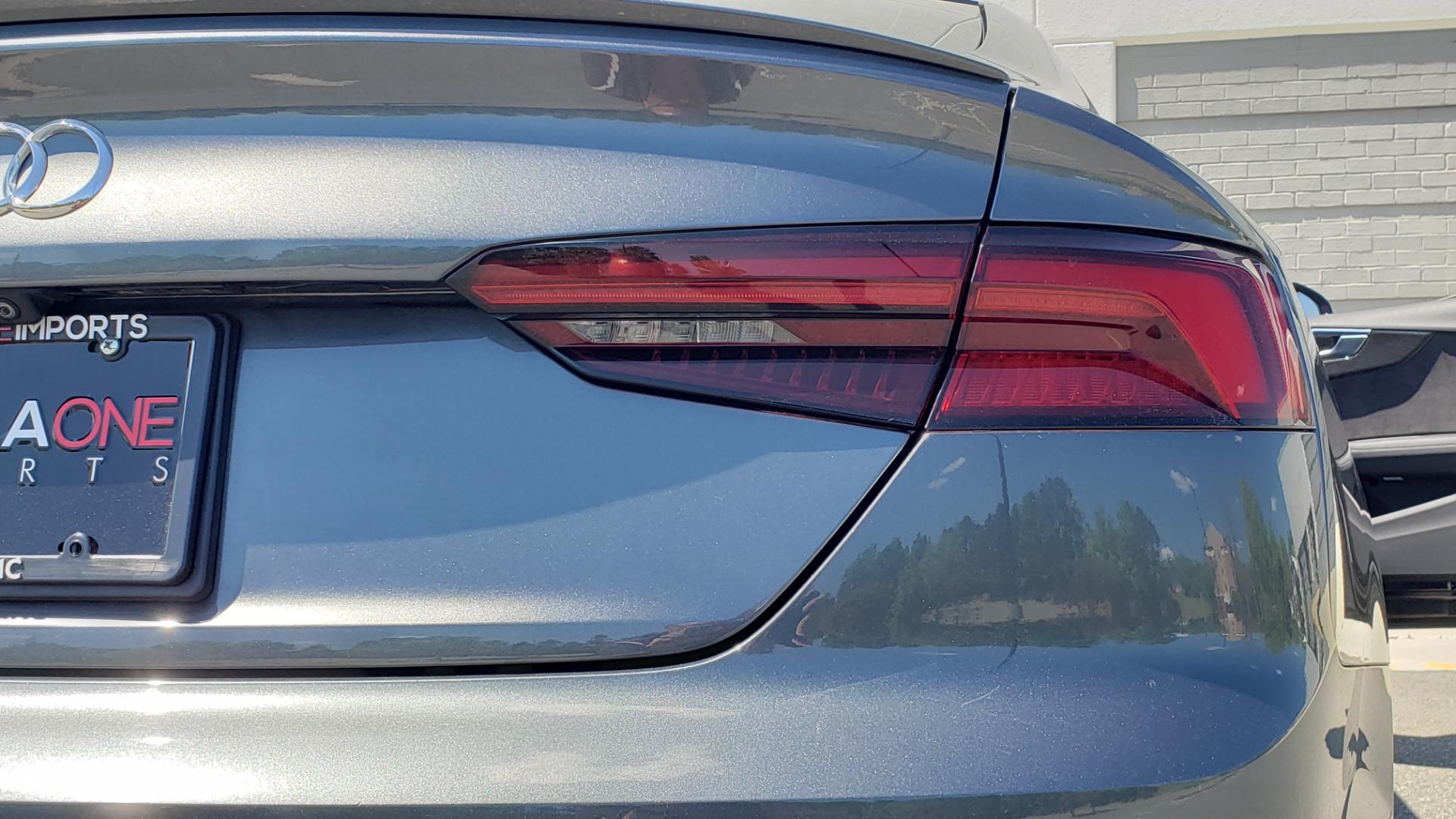 Used 2018 Audi S5 SPORTBACK PRESTIGE S-SPORT / NAV / SUNROOF / HUD / B&O SND / REARVIEW for sale $48,995 at Formula Imports in Charlotte NC 28227 29