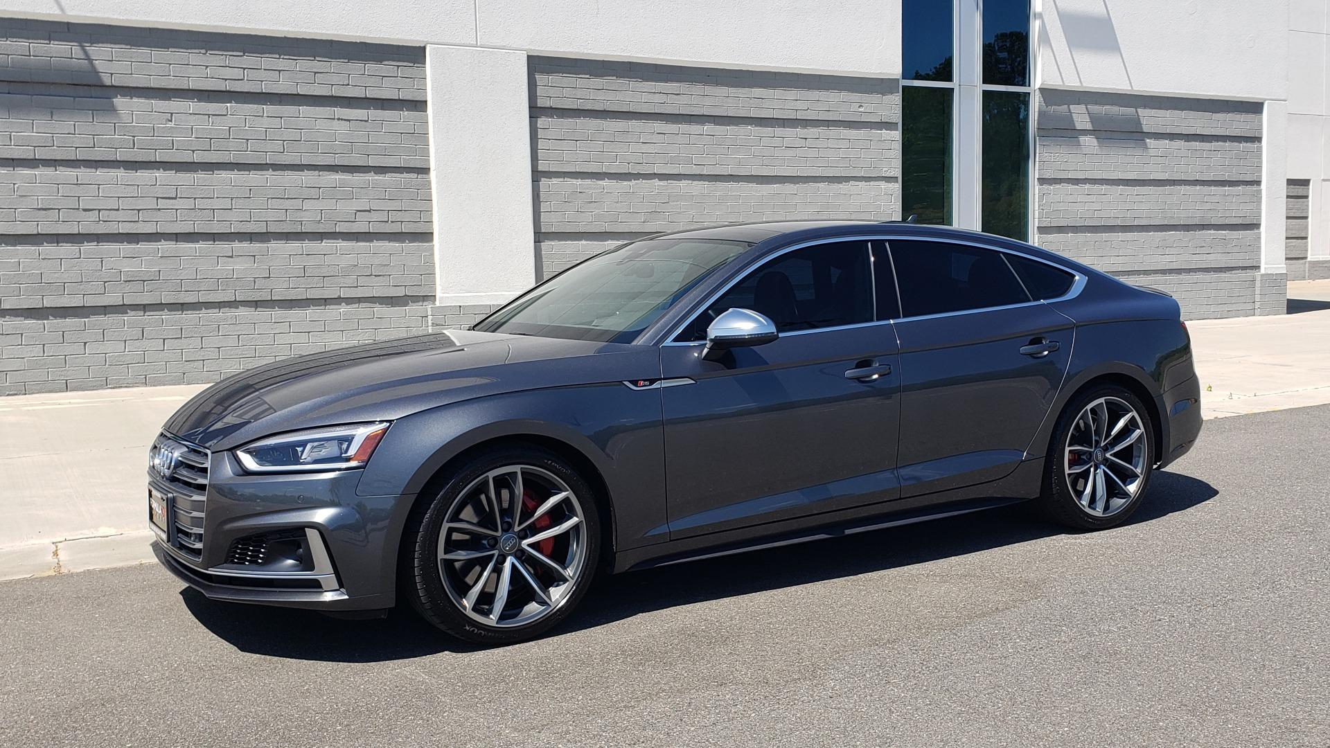 Used 2018 Audi S5 SPORTBACK PRESTIGE S-SPORT / NAV / SUNROOF / HUD / B&O SND / REARVIEW for sale $48,995 at Formula Imports in Charlotte NC 28227 3