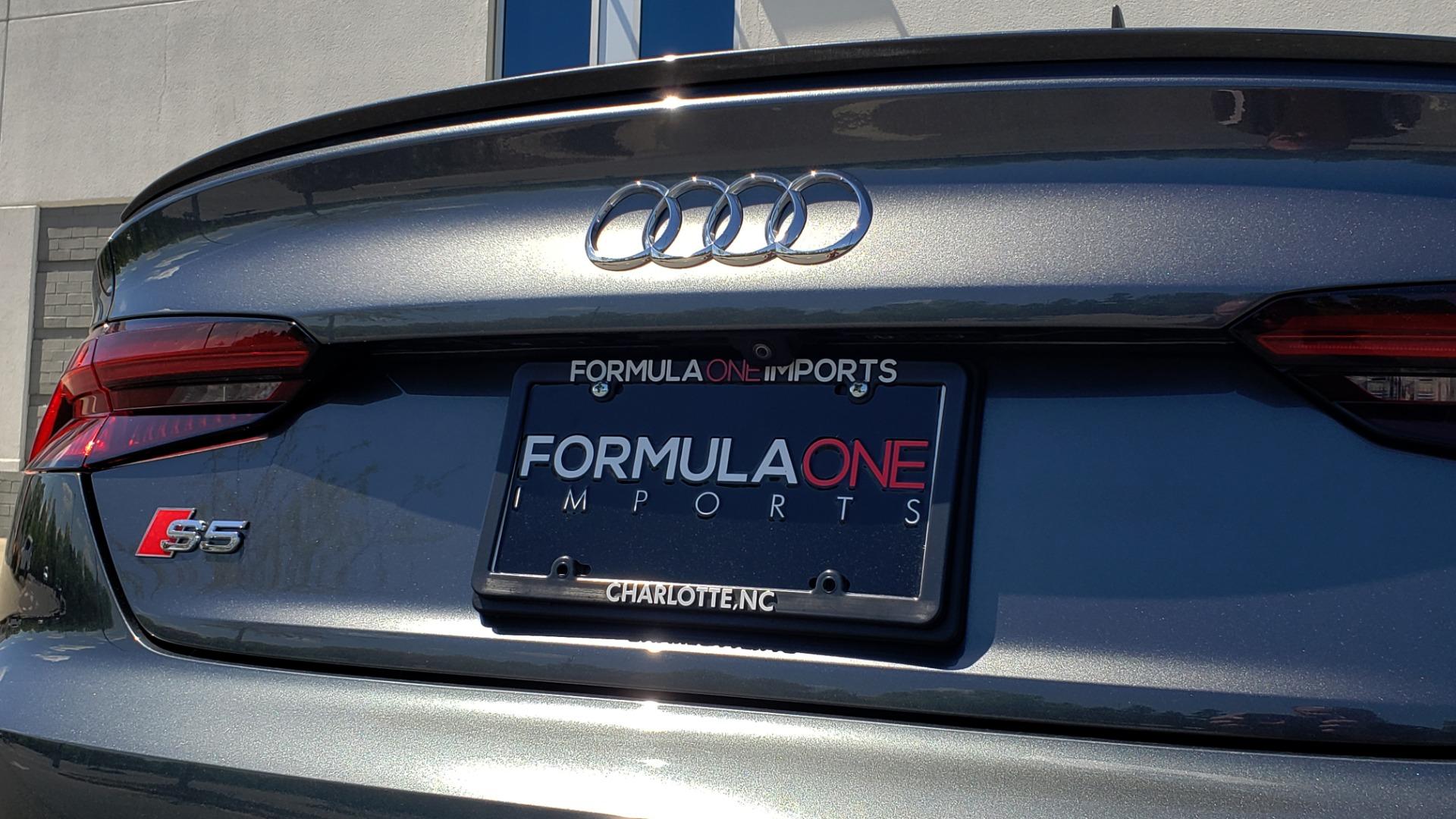 Used 2018 Audi S5 SPORTBACK PRESTIGE S-SPORT / NAV / SUNROOF / HUD / B&O SND / REARVIEW for sale $48,995 at Formula Imports in Charlotte NC 28227 30