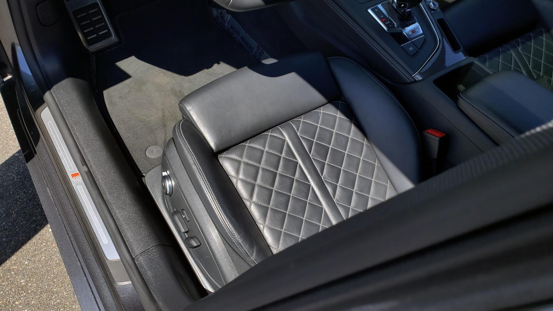 Used 2018 Audi S5 SPORTBACK PRESTIGE S-SPORT / NAV / SUNROOF / HUD / B&O SND / REARVIEW for sale $48,995 at Formula Imports in Charlotte NC 28227 32