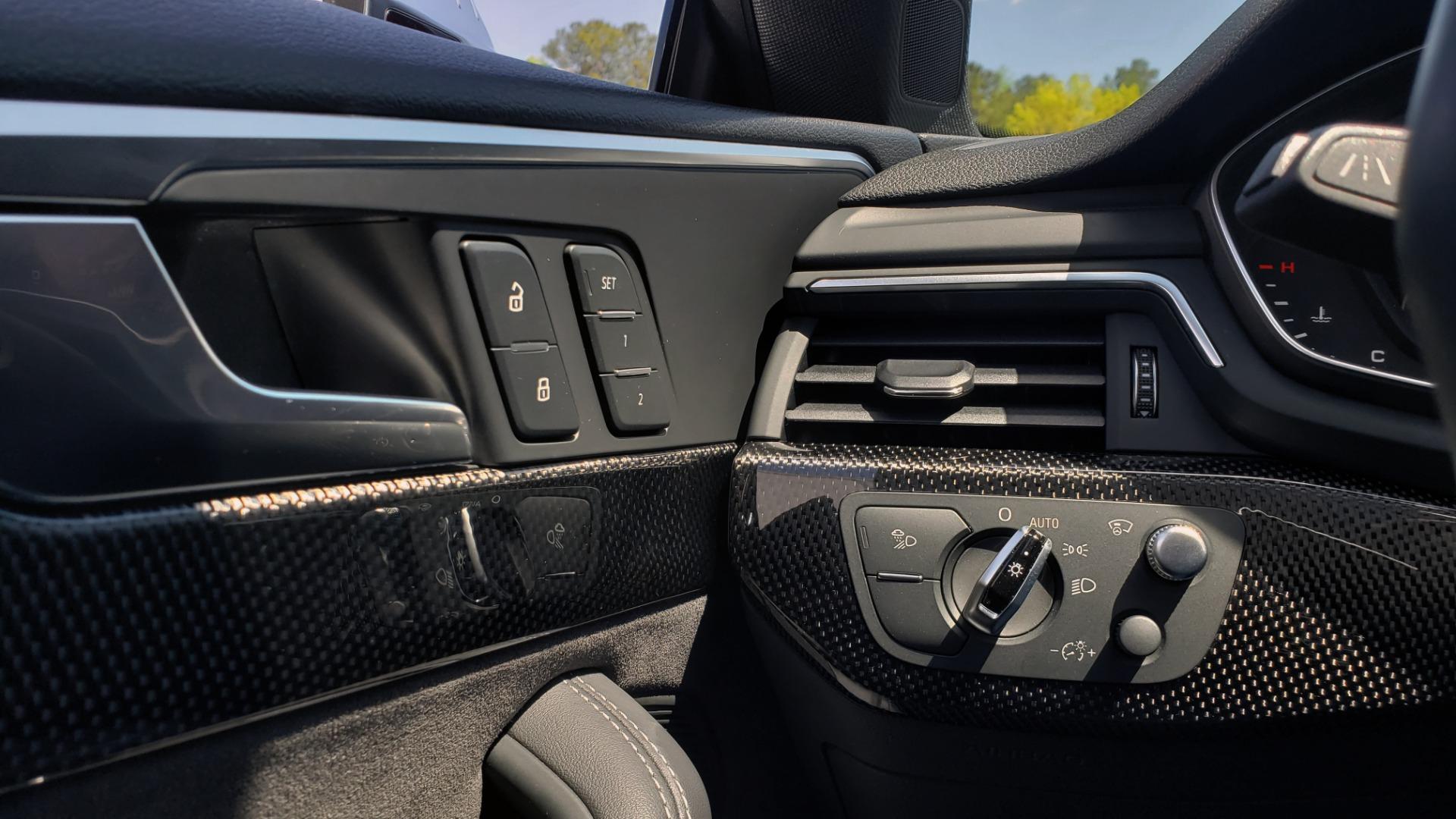 Used 2018 Audi S5 SPORTBACK PRESTIGE S-SPORT / NAV / SUNROOF / HUD / B&O SND / REARVIEW for sale $48,995 at Formula Imports in Charlotte NC 28227 38