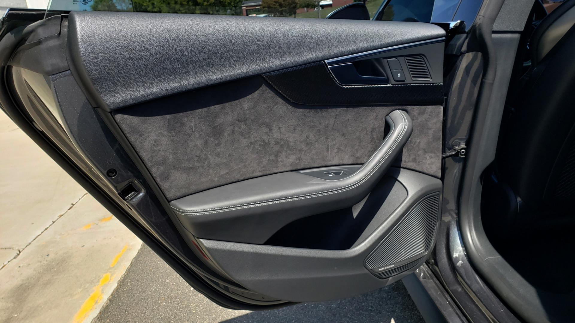Used 2018 Audi S5 SPORTBACK PRESTIGE S-SPORT / NAV / SUNROOF / HUD / B&O SND / REARVIEW for sale $48,995 at Formula Imports in Charlotte NC 28227 50