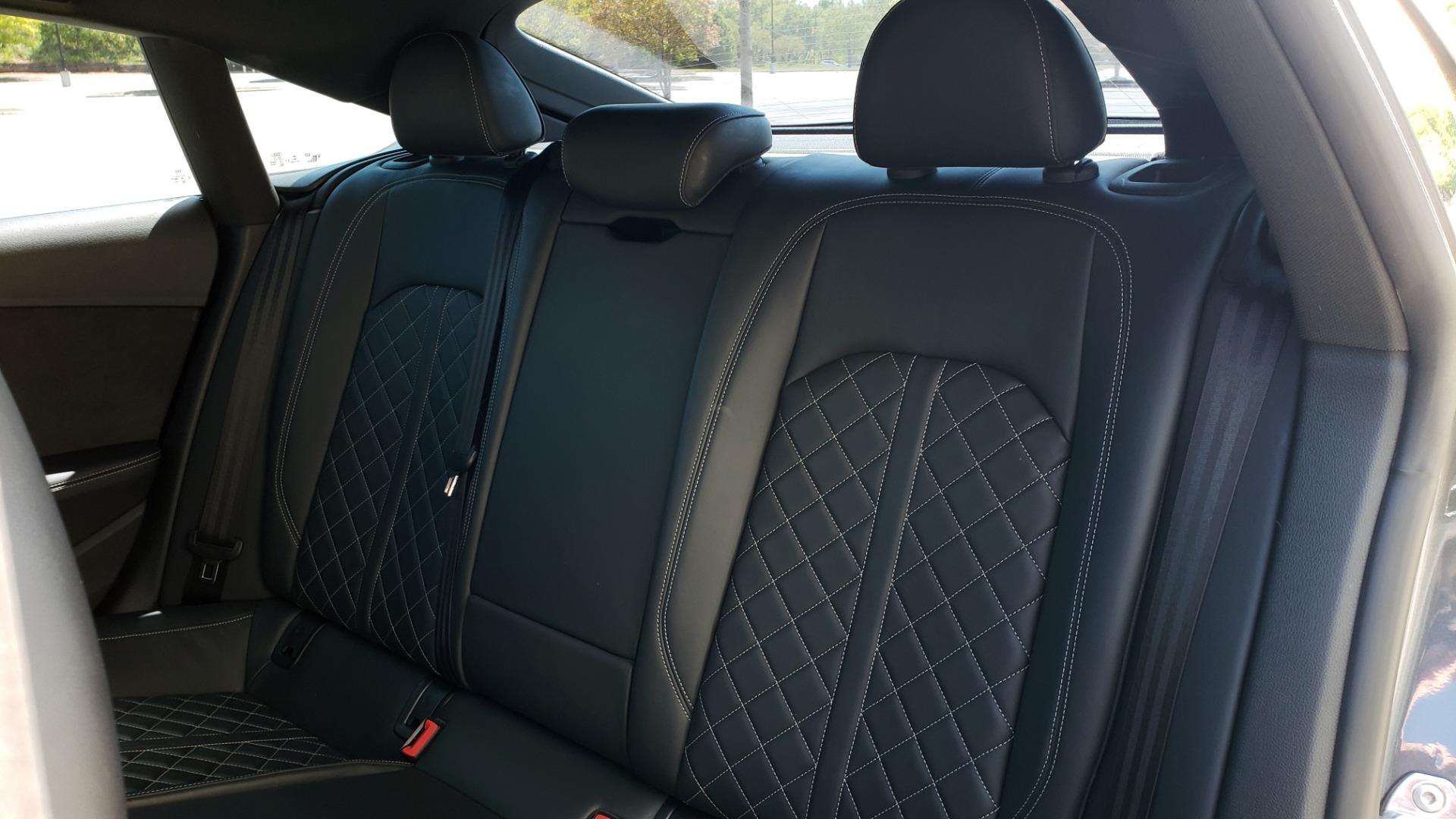 Used 2018 Audi S5 SPORTBACK PRESTIGE S-SPORT / NAV / SUNROOF / HUD / B&O SND / REARVIEW for sale $48,995 at Formula Imports in Charlotte NC 28227 53