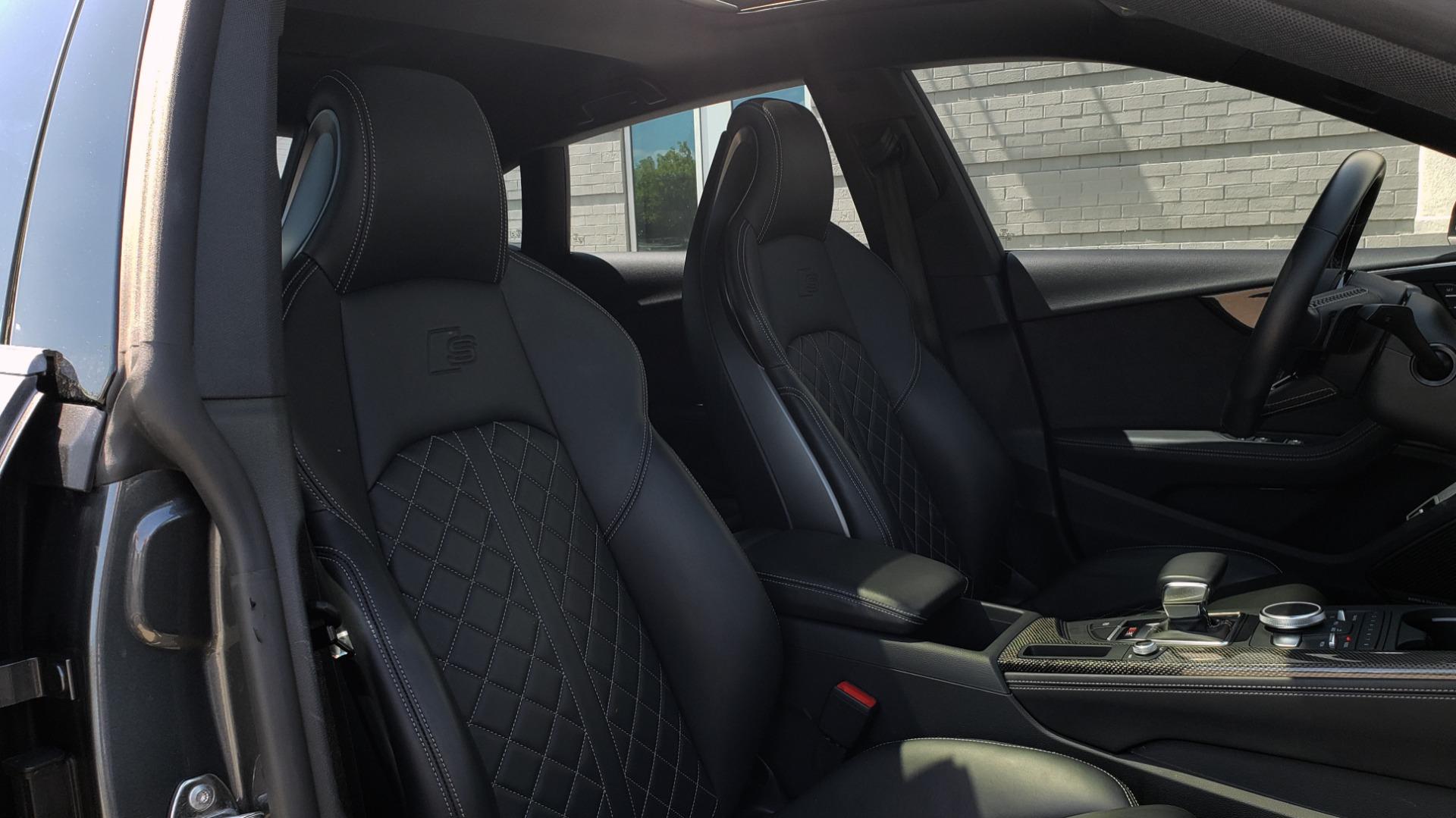 Used 2018 Audi S5 SPORTBACK PRESTIGE S-SPORT / NAV / SUNROOF / HUD / B&O SND / REARVIEW for sale $48,995 at Formula Imports in Charlotte NC 28227 57
