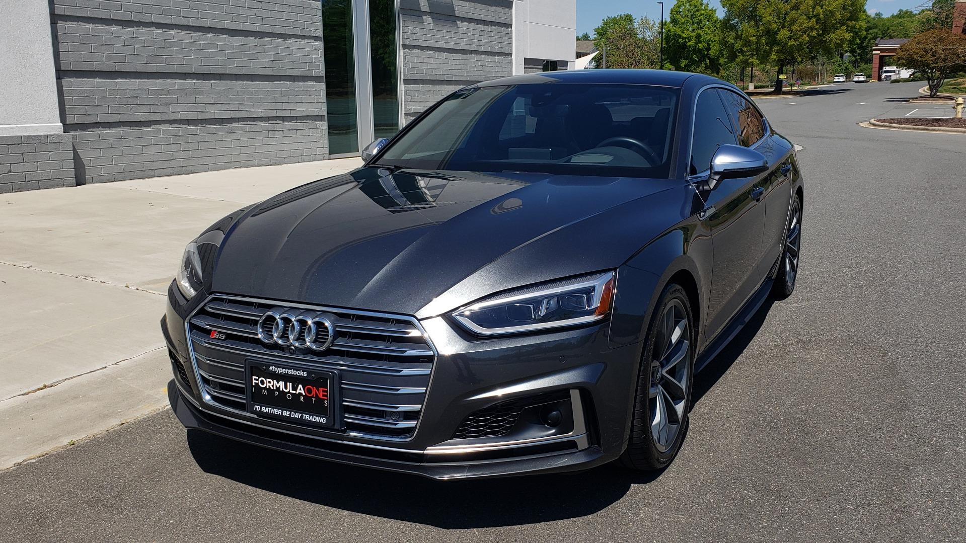 Used 2018 Audi S5 SPORTBACK PRESTIGE S-SPORT / NAV / SUNROOF / HUD / B&O SND / REARVIEW for sale $48,995 at Formula Imports in Charlotte NC 28227 1