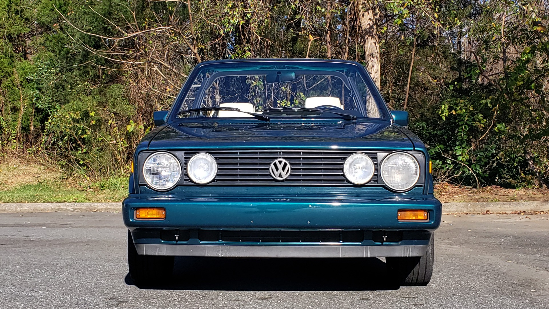 Used 1992 Volkswagen CABRIOLET 5-SPEED MAN / 4-CYL / AIR / 94K MILES / VERY CLEAN for sale Sold at Formula Imports in Charlotte NC 28227 60