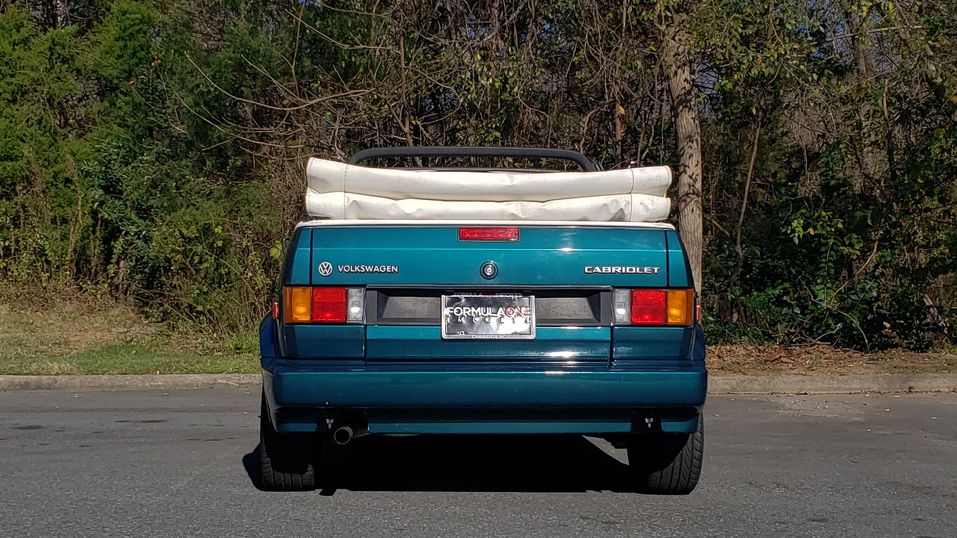 Used 1992 Volkswagen CABRIOLET 5-SPEED MAN / 4-CYL / AIR / 94K MILES / VERY CLEAN for sale Sold at Formula Imports in Charlotte NC 28227 66