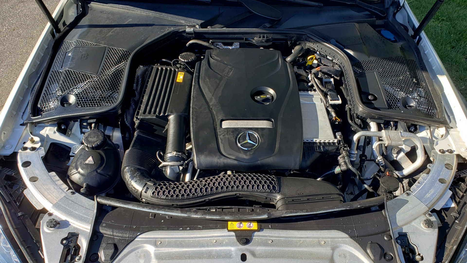 Used 2017 Mercedes-Benz C-CLASS C 300 SPORT / PREM PKG / PANO-ROOF / NAV / HTD STST / REARVIEW for sale Sold at Formula Imports in Charlotte NC 28227 11