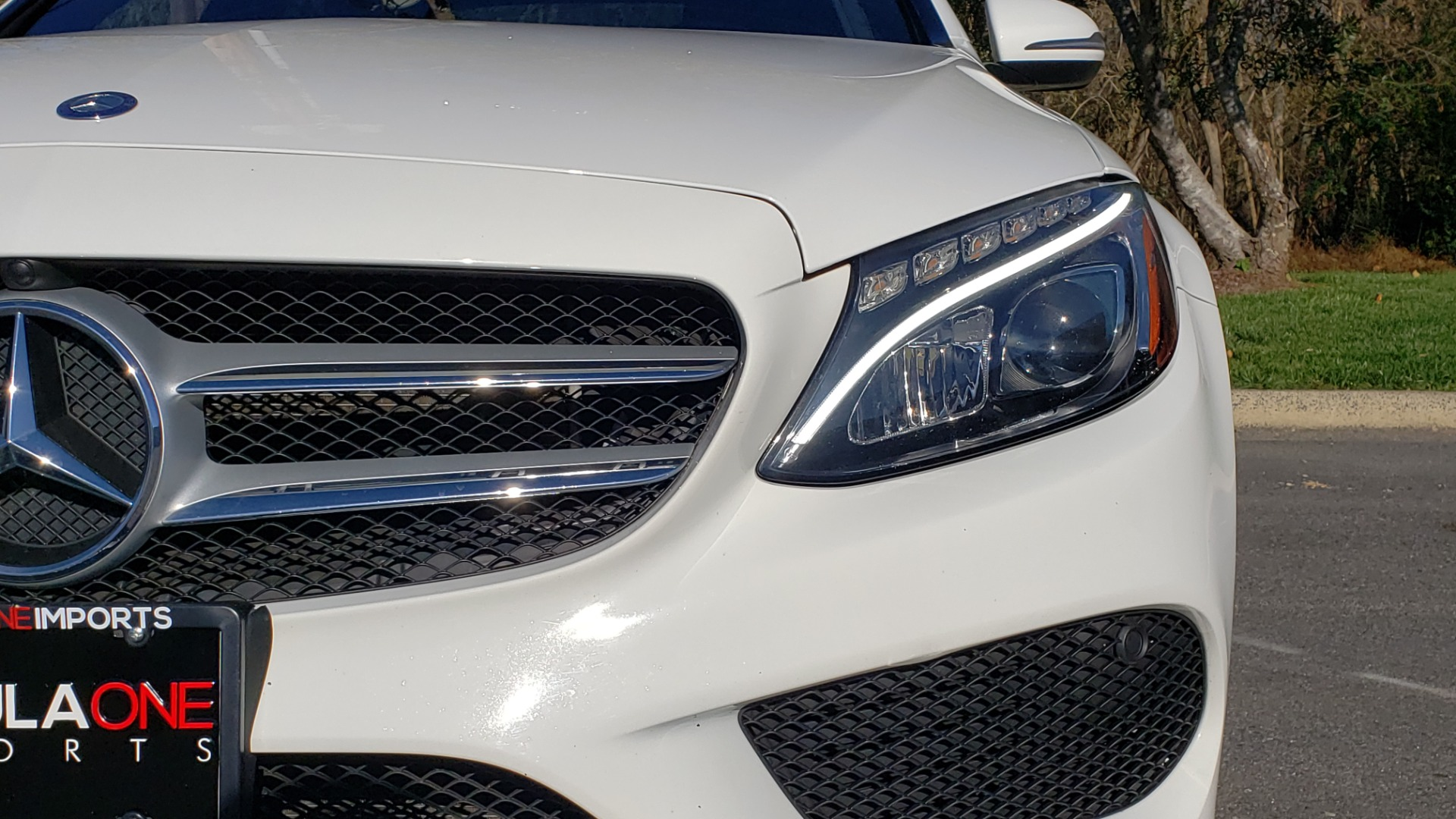Used 2017 Mercedes-Benz C-CLASS C 300 SPORT / PREM PKG / PANO-ROOF / NAV / HTD STST / REARVIEW for sale Sold at Formula Imports in Charlotte NC 28227 16