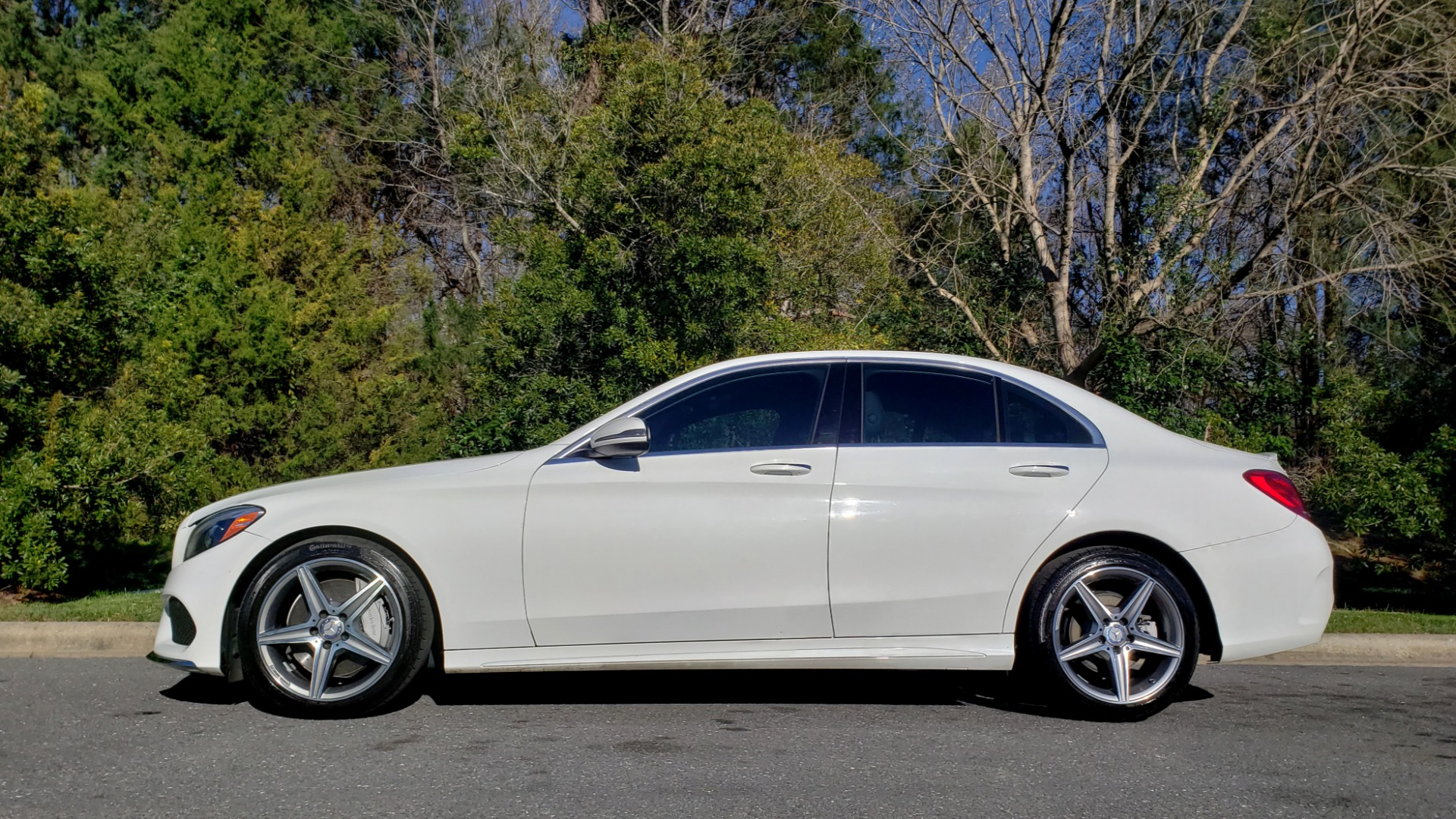 Used 2017 Mercedes-Benz C-CLASS C 300 SPORT / PREM PKG / PANO-ROOF / NAV / HTD STST / REARVIEW for sale Sold at Formula Imports in Charlotte NC 28227 2