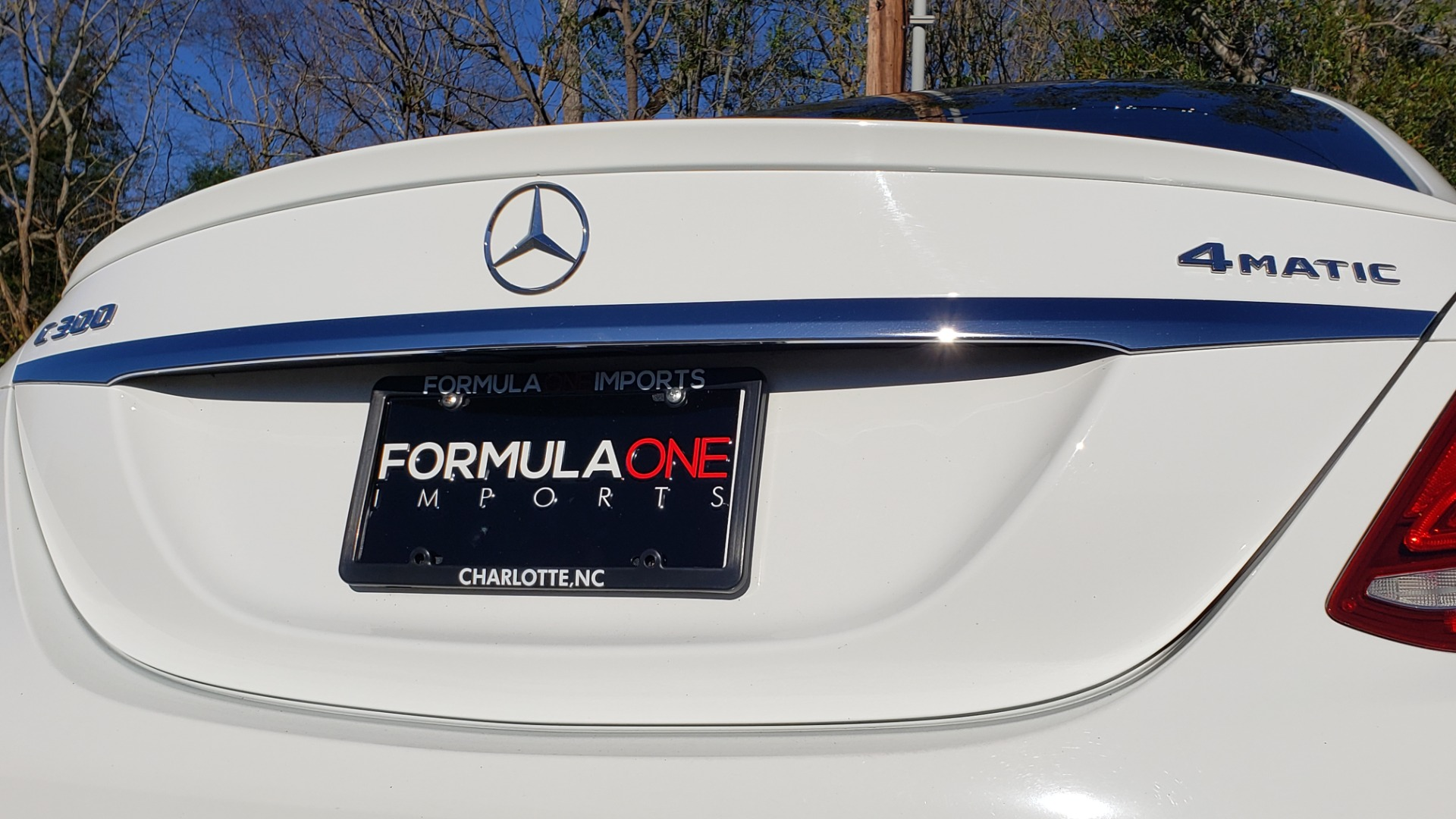Used 2017 Mercedes-Benz C-CLASS C 300 SPORT / PREM PKG / PANO-ROOF / NAV / HTD STST / REARVIEW for sale Sold at Formula Imports in Charlotte NC 28227 24