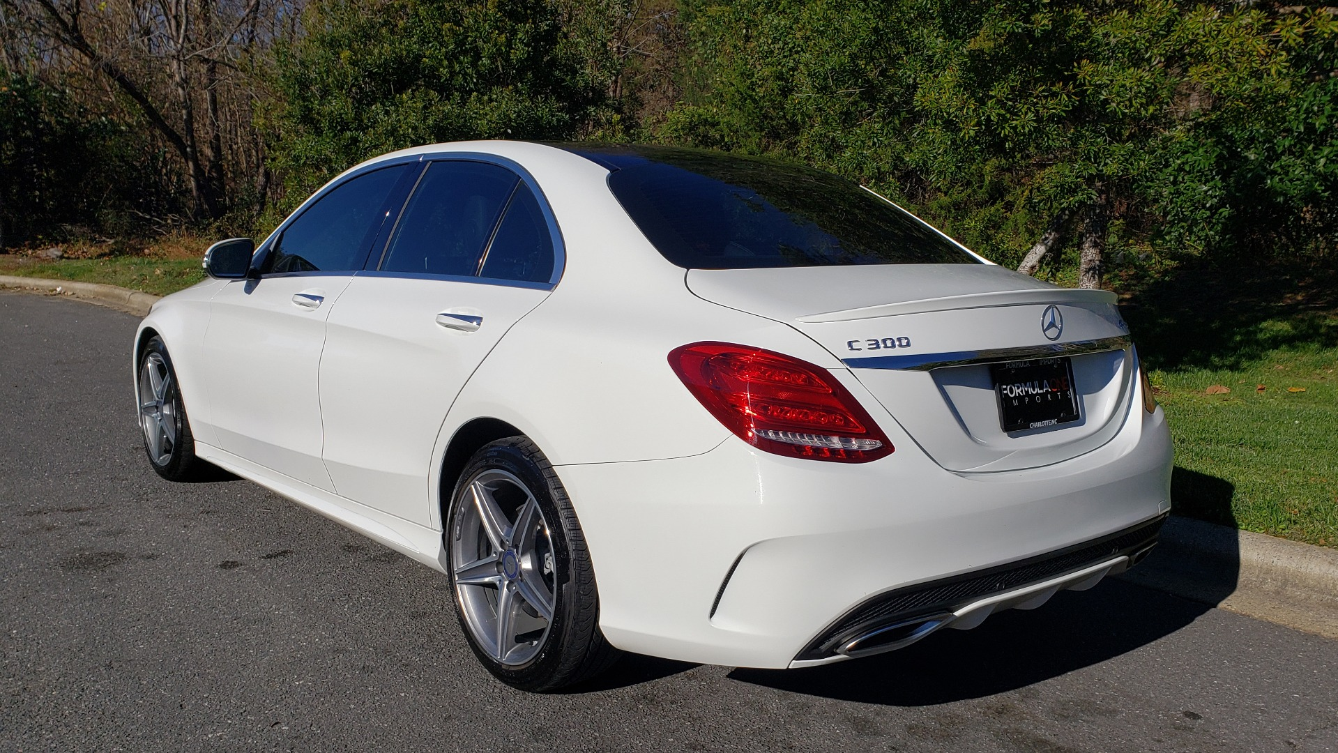 Used 2017 Mercedes-Benz C-CLASS C 300 SPORT / PREM PKG / PANO-ROOF / NAV / HTD STST / REARVIEW for sale Sold at Formula Imports in Charlotte NC 28227 3