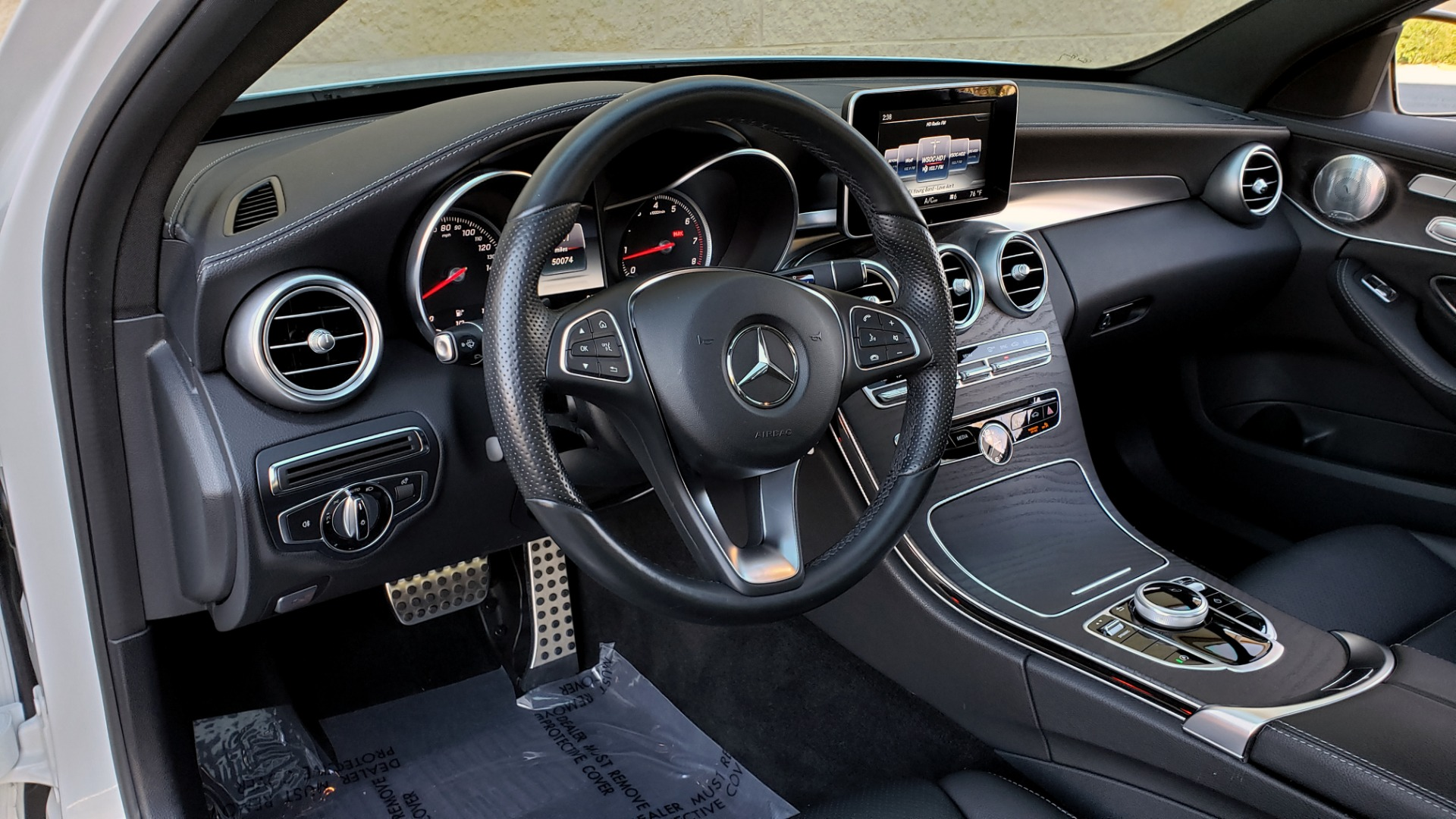 Used 2017 Mercedes-Benz C-CLASS C 300 SPORT / PREM PKG / PANO-ROOF / NAV / HTD STST / REARVIEW for sale Sold at Formula Imports in Charlotte NC 28227 31