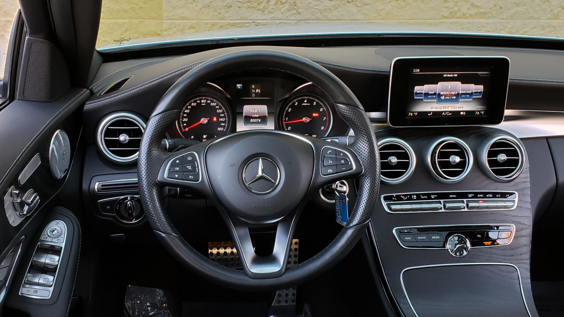 Used 2017 Mercedes-Benz C-CLASS C 300 SPORT / PREM PKG / PANO-ROOF / NAV / HTD STST / REARVIEW for sale Sold at Formula Imports in Charlotte NC 28227 33