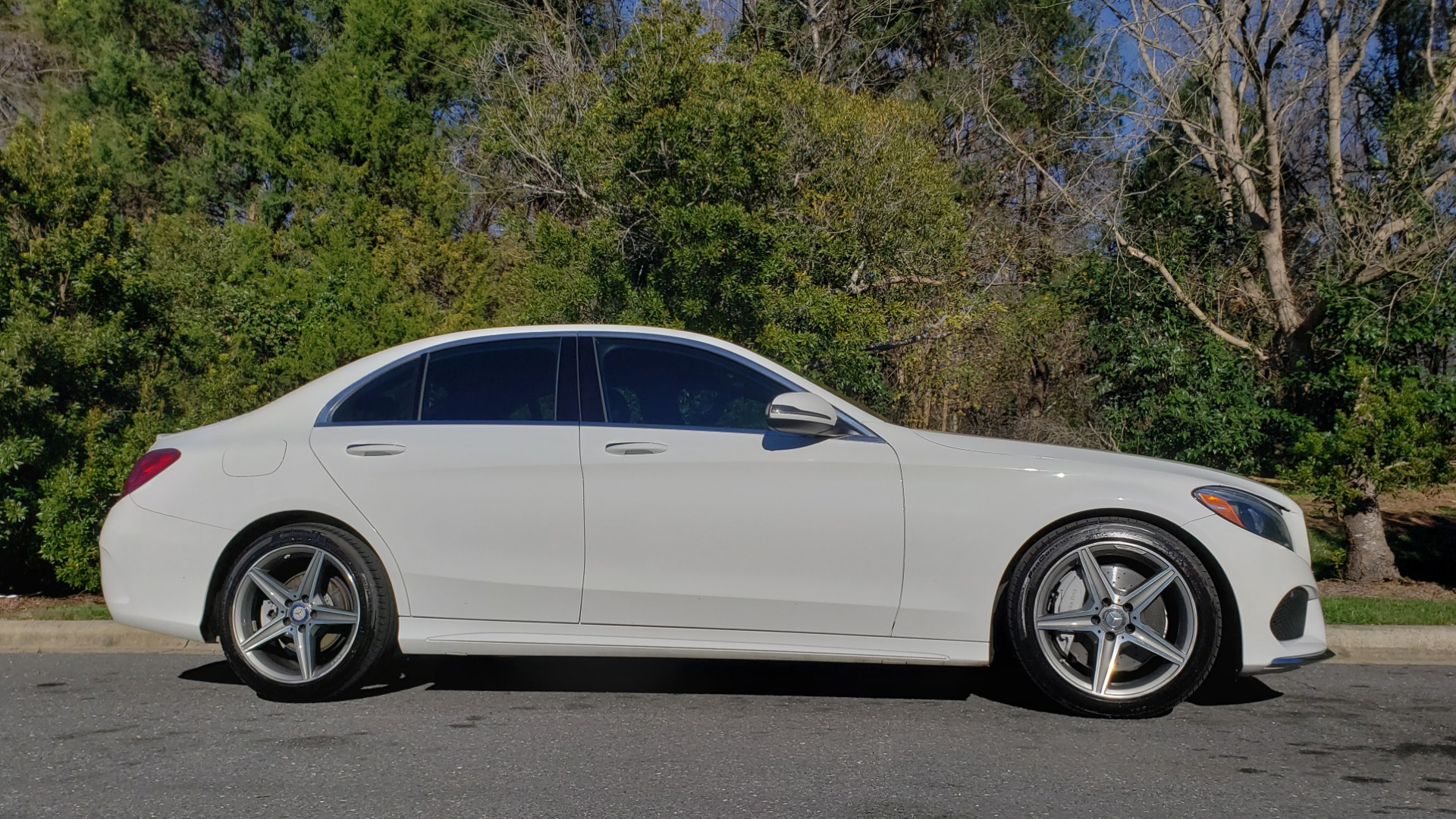 Used 2017 Mercedes-Benz C-CLASS C 300 SPORT / PREM PKG / PANO-ROOF / NAV / HTD STST / REARVIEW for sale Sold at Formula Imports in Charlotte NC 28227 5