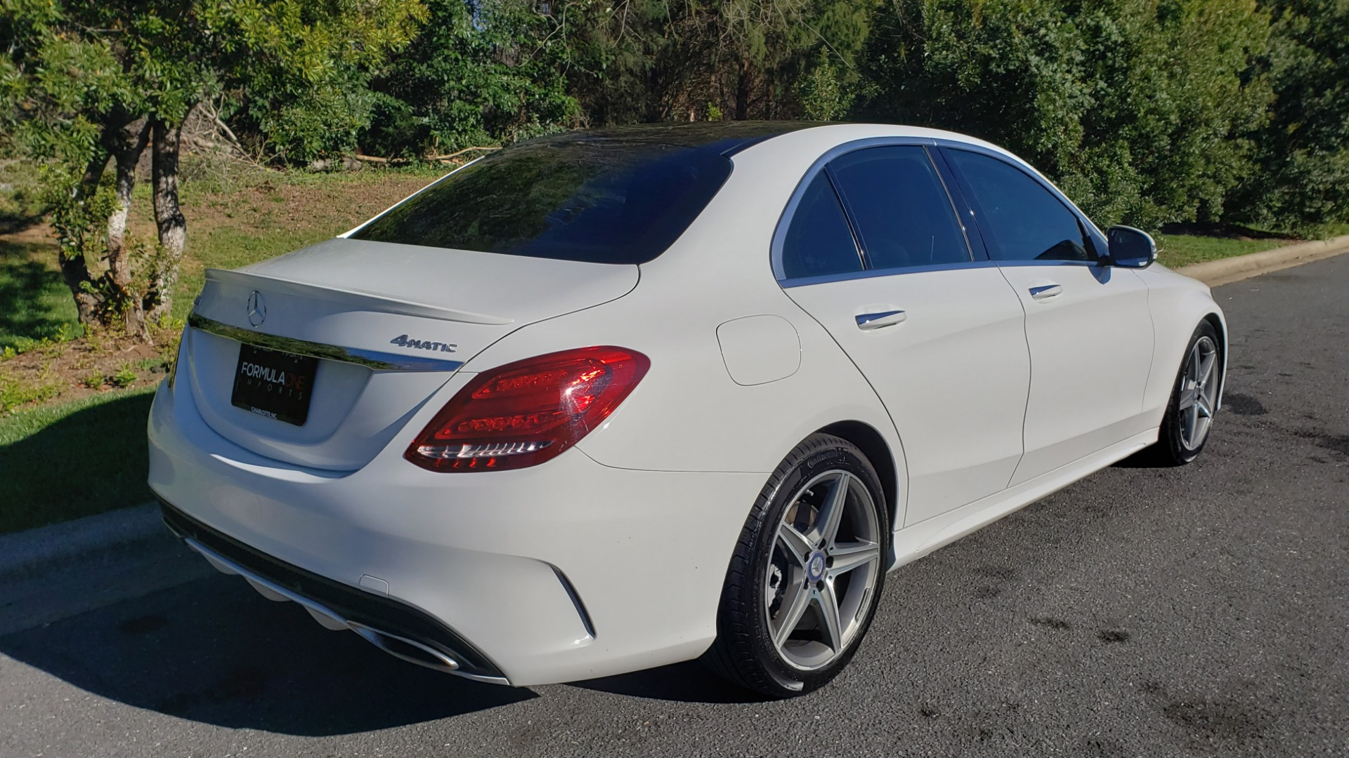 Used 2017 Mercedes-Benz C-CLASS C 300 SPORT / PREM PKG / PANO-ROOF / NAV / HTD STST / REARVIEW for sale Sold at Formula Imports in Charlotte NC 28227 6