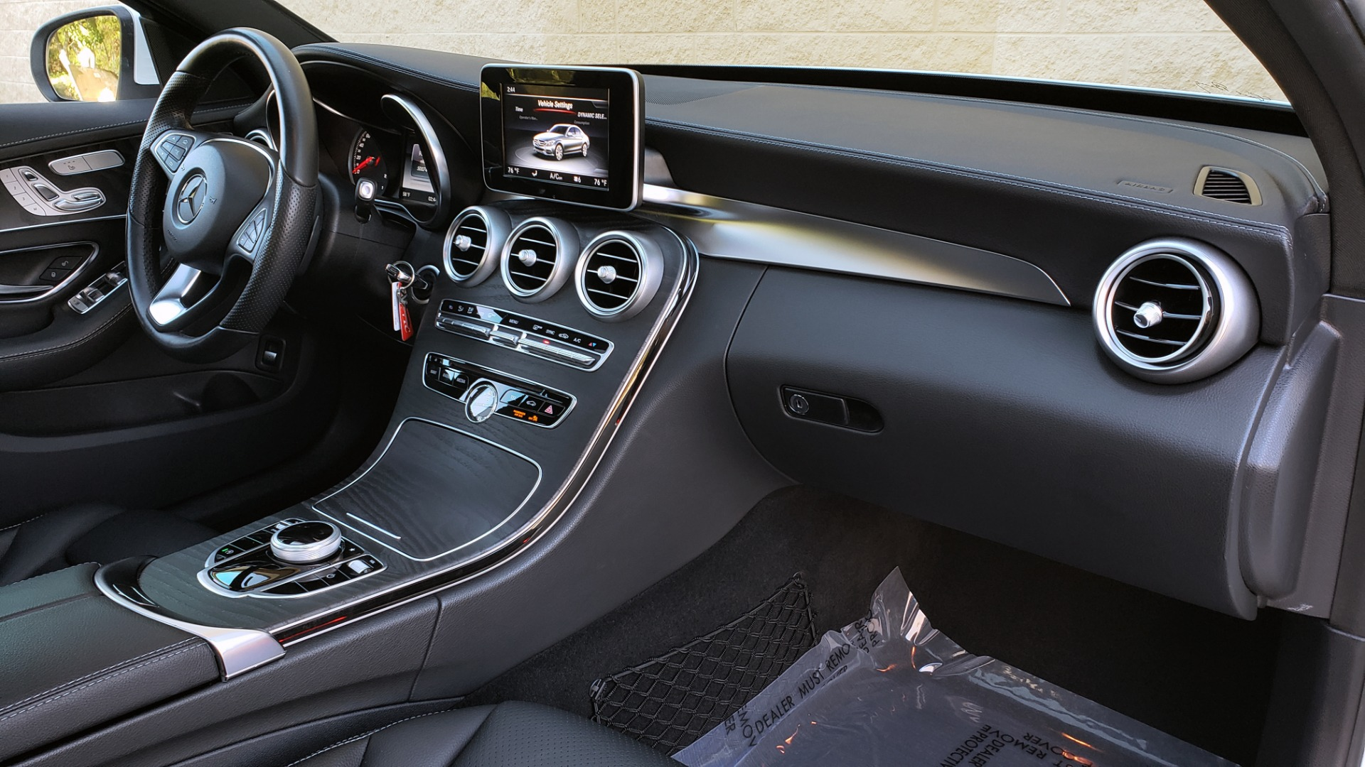 Used 2017 Mercedes-Benz C-CLASS C 300 SPORT / PREM PKG / PANO-ROOF / NAV / HTD STST / REARVIEW for sale Sold at Formula Imports in Charlotte NC 28227 63