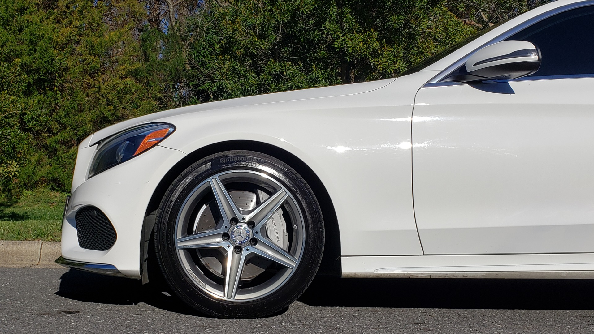 Used 2017 Mercedes-Benz C-CLASS C 300 SPORT / PREM PKG / PANO-ROOF / NAV / HTD STST / REARVIEW for sale Sold at Formula Imports in Charlotte NC 28227 75
