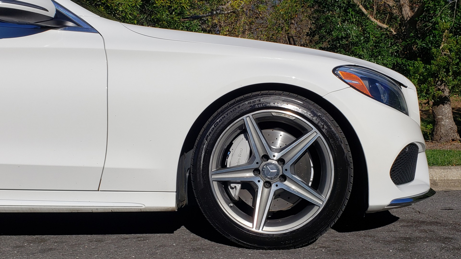 Used 2017 Mercedes-Benz C-CLASS C 300 SPORT / PREM PKG / PANO-ROOF / NAV / HTD STST / REARVIEW for sale Sold at Formula Imports in Charlotte NC 28227 78