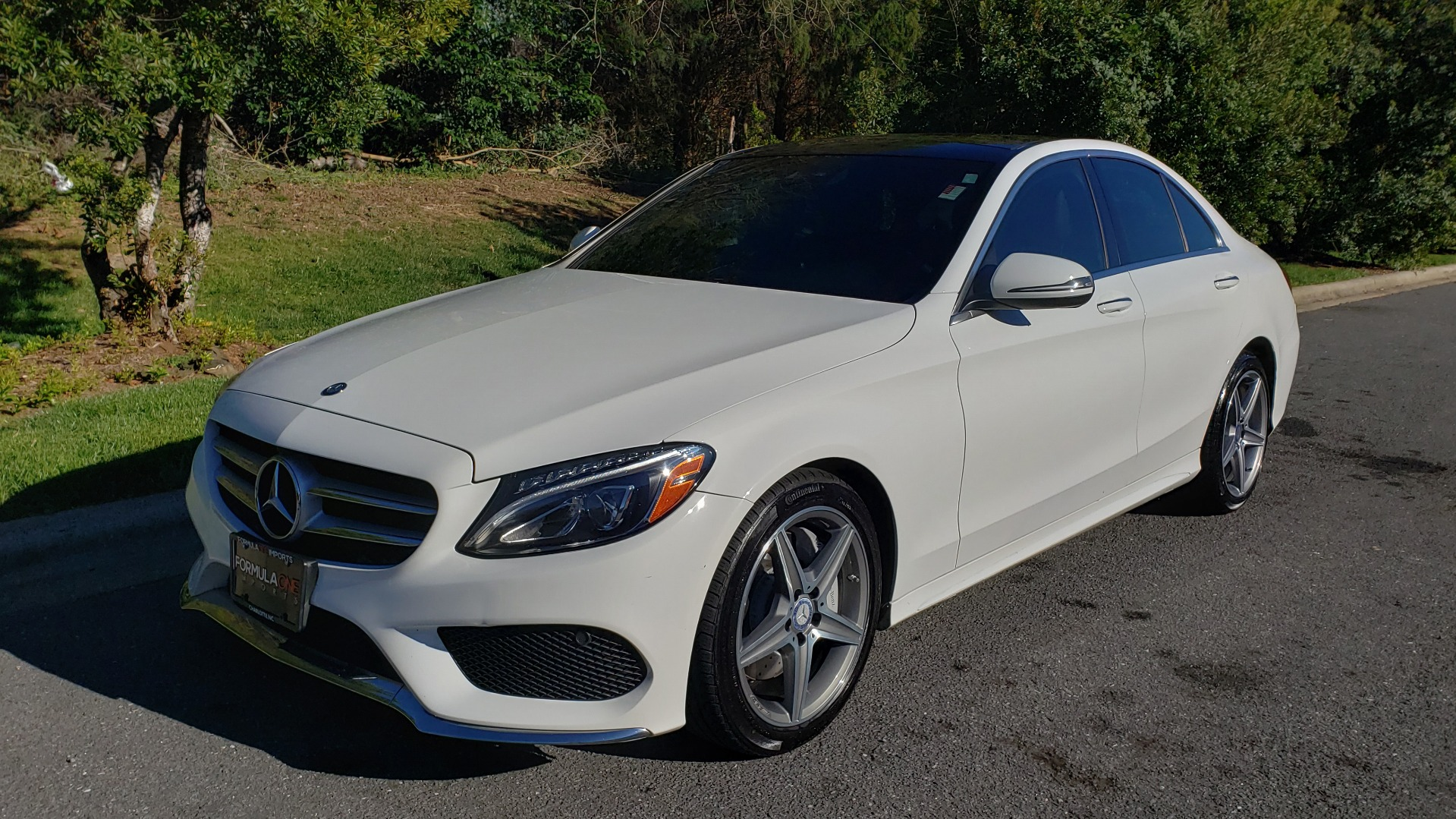 Used 2017 Mercedes-Benz C-CLASS C 300 SPORT / PREM PKG / PANO-ROOF / NAV / HTD STST / REARVIEW for sale Sold at Formula Imports in Charlotte NC 28227 1