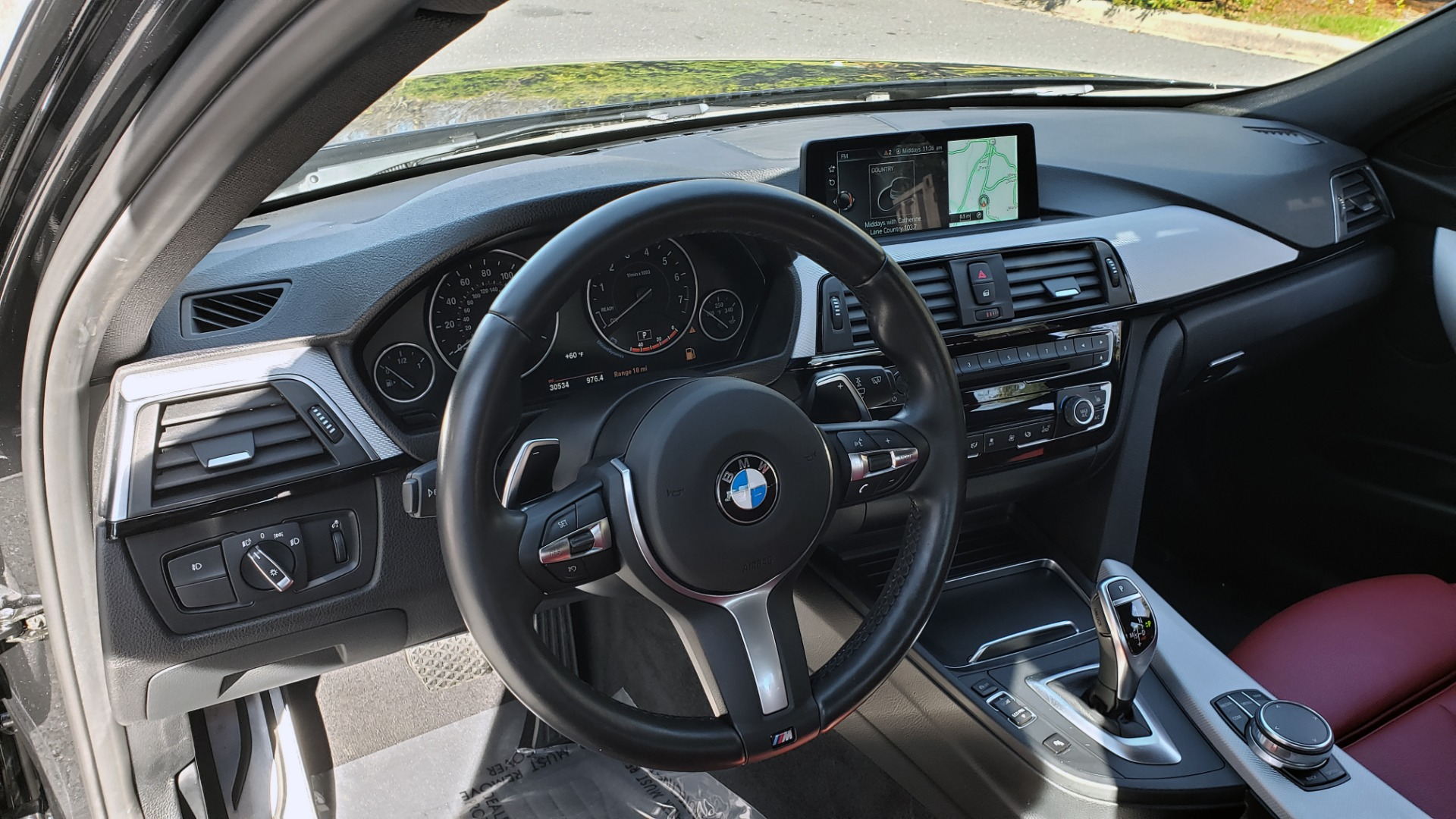 Used 2017 BMW 3 SERIES 330IXDRIVE M-SPORT / PREMIUM / DRVR ASST / CLD WTHR / NAV / APPLE CARPLAY for sale $27,495 at Formula Imports in Charlotte NC 28227 35