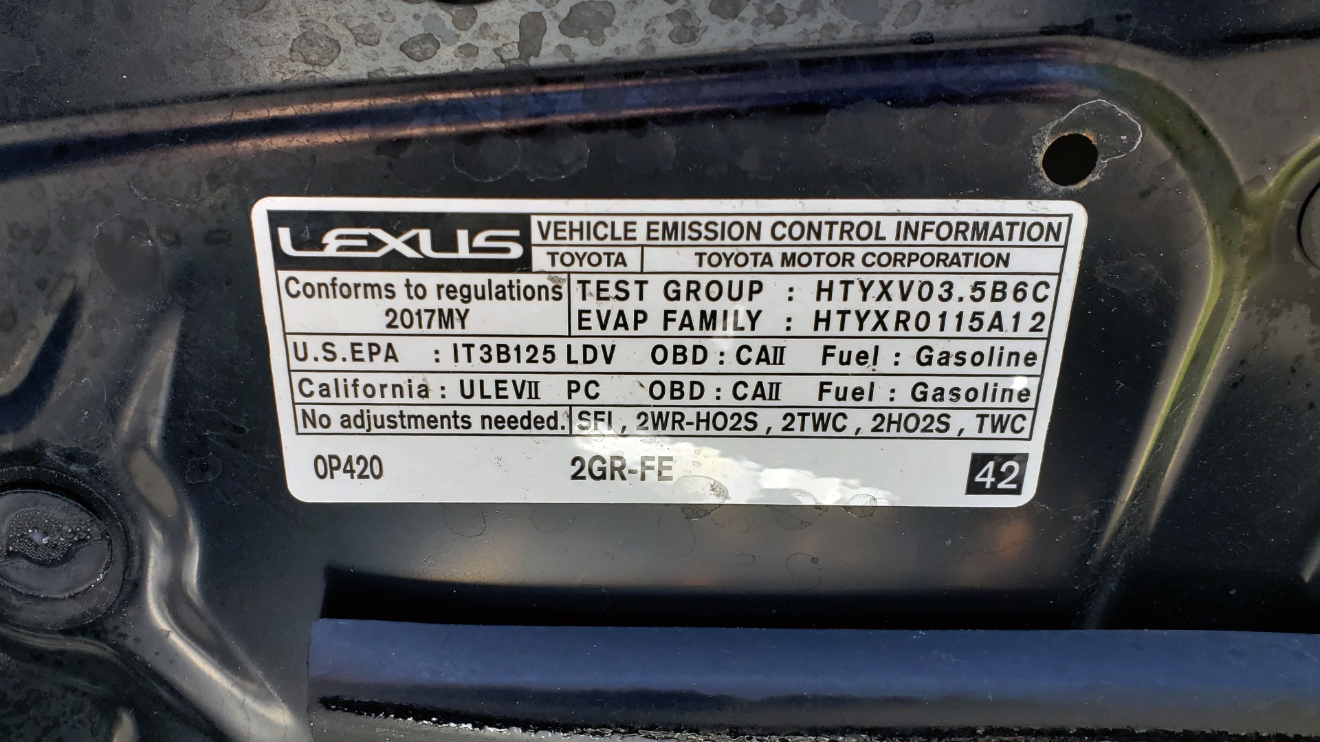 Used 2017 Lexus ES 350 PREMIUM / NAV / SUNROOF / BSM / VENT STS / REARVIEW for sale $24,795 at Formula Imports in Charlotte NC 28227 10