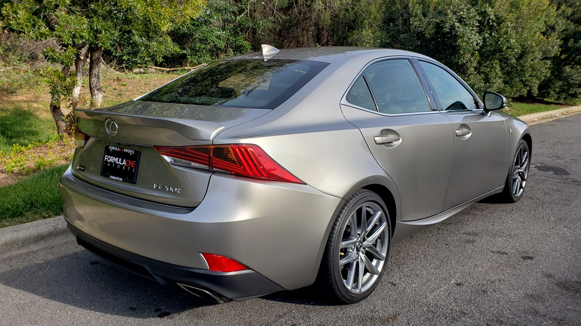 Used 2017 Lexus IS 200 TURBO F-SPORT / BSM / SUNROOF / VENT SEATS / REARVIEW for sale $24,945 at Formula Imports in Charlotte NC 28227 6