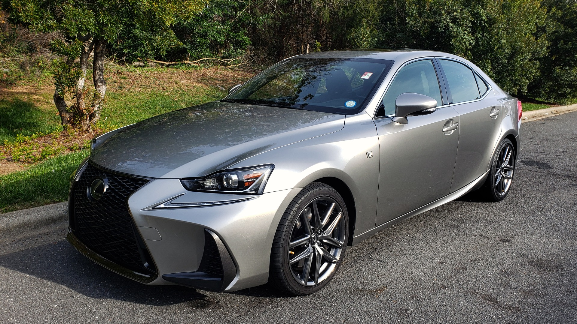 Used 2017 Lexus IS 200 TURBO F-SPORT / BSM / SUNROOF / VENT SEATS / REARVIEW for sale $24,945 at Formula Imports in Charlotte NC 28227 1