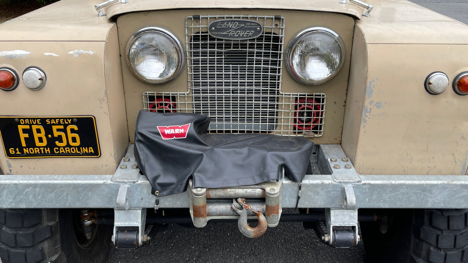 Used 1960 Land Rover 88 SERIES II VORTEC 4.8L V8 / 4X4 / 4-SPEED MANUAL / LIFTED / SOFT-TOP for sale $40,995 at Formula Imports in Charlotte NC 28227 15