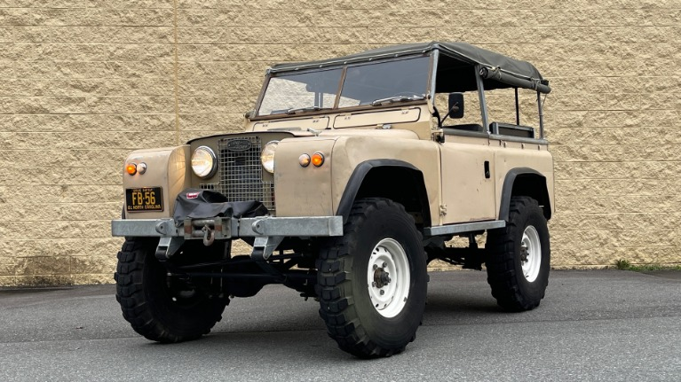 Used 1960 Land Rover 88 SERIES II VORTEC 4.8L V8 / 4X4 / 4-SPEED MANUAL / LIFTED / SOFT-TOP for sale $40,995 at Formula Imports in Charlotte NC