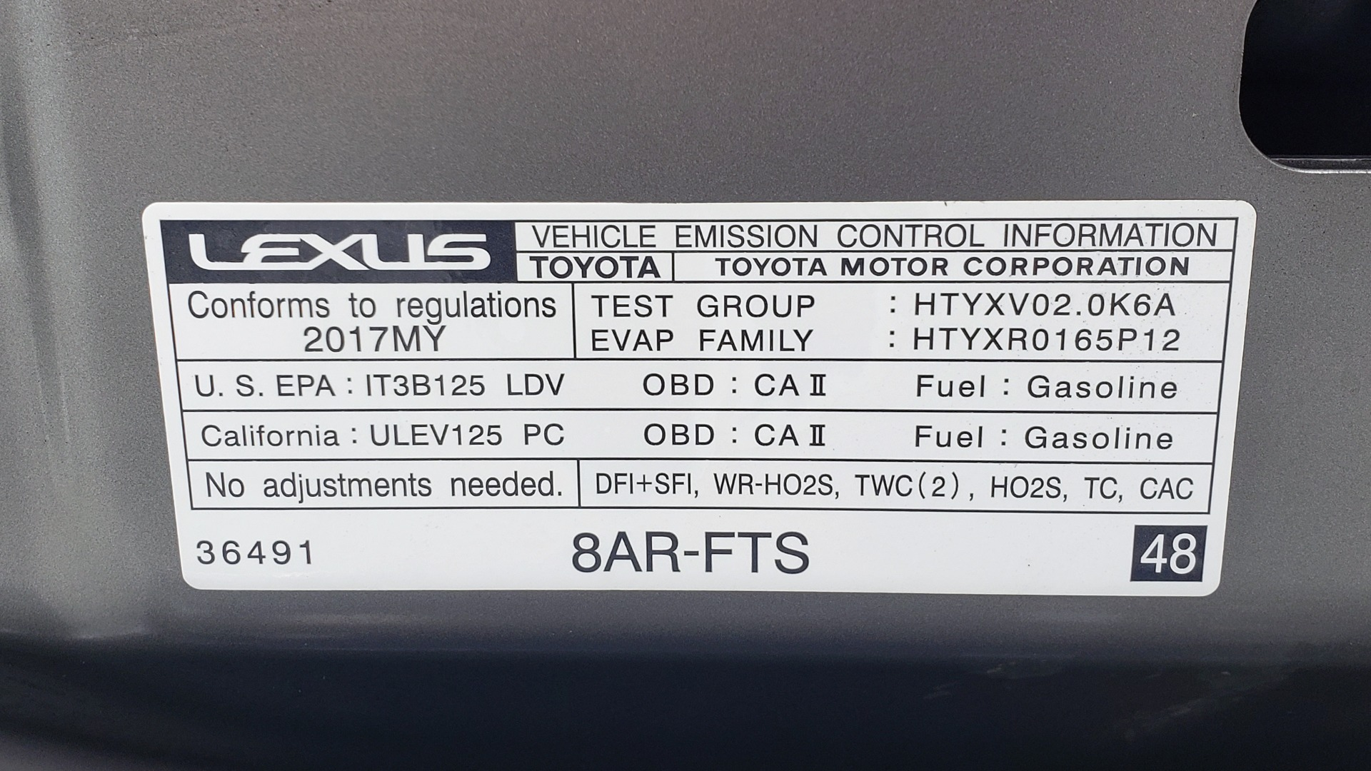 Used 2017 Lexus IS 200 TURBO F-SPORT / BSM / SUNROOF / VENT SEATS / REARVIEW for sale Sold at Formula Imports in Charlotte NC 28227 18