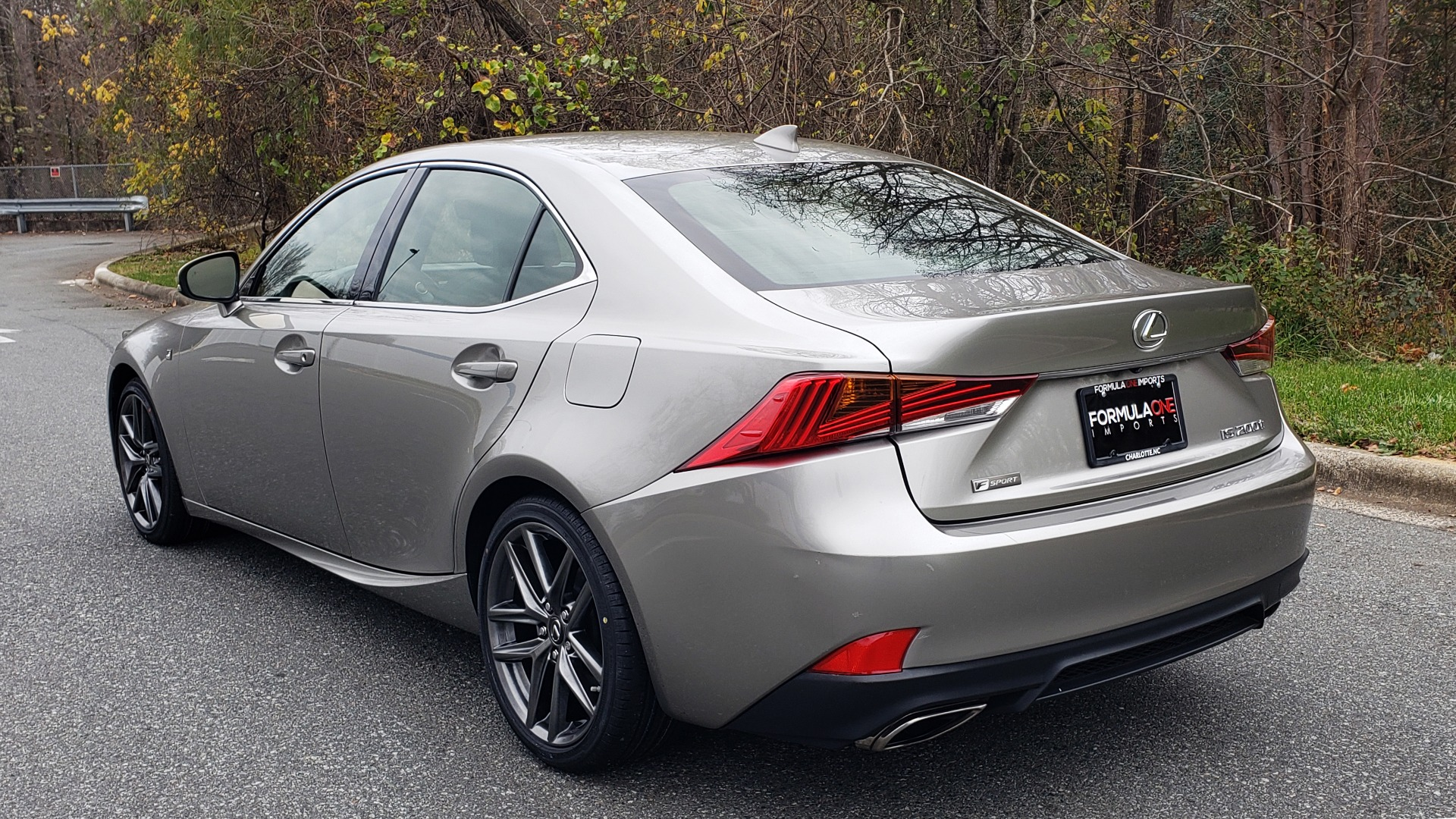 Used 2017 Lexus IS 200 TURBO F-SPORT / BSM / SUNROOF / VENT SEATS / REARVIEW for sale Sold at Formula Imports in Charlotte NC 28227 3