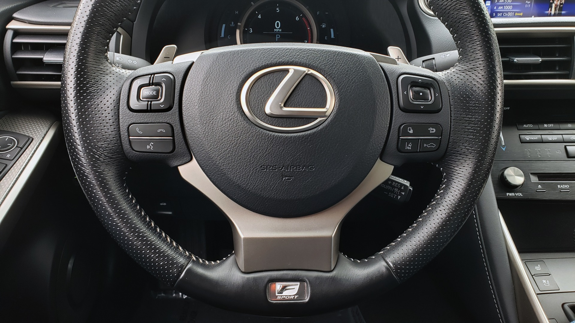 Used 2017 Lexus IS 200 TURBO F-SPORT / BSM / SUNROOF / VENT SEATS / REARVIEW for sale Sold at Formula Imports in Charlotte NC 28227 45
