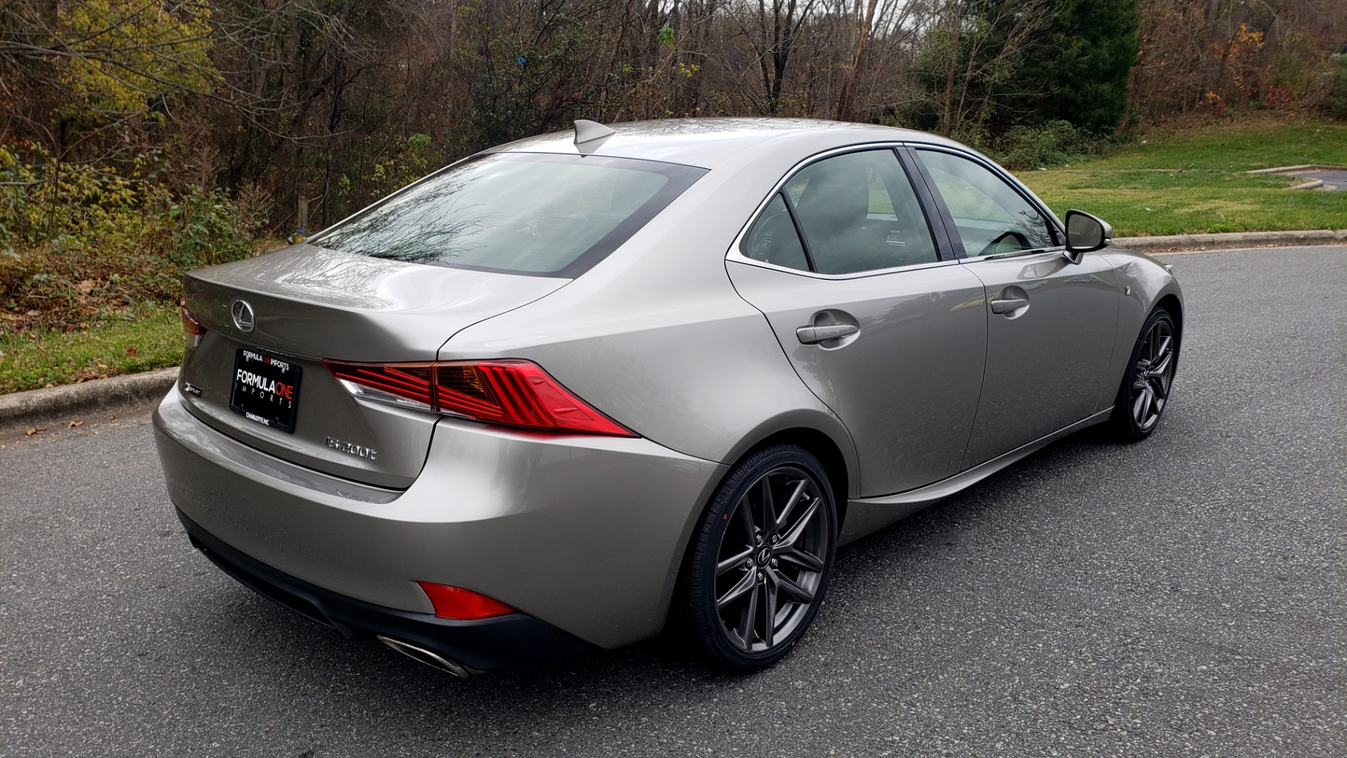 Used 2017 Lexus IS 200 TURBO F-SPORT / BSM / SUNROOF / VENT SEATS / REARVIEW for sale Sold at Formula Imports in Charlotte NC 28227 9