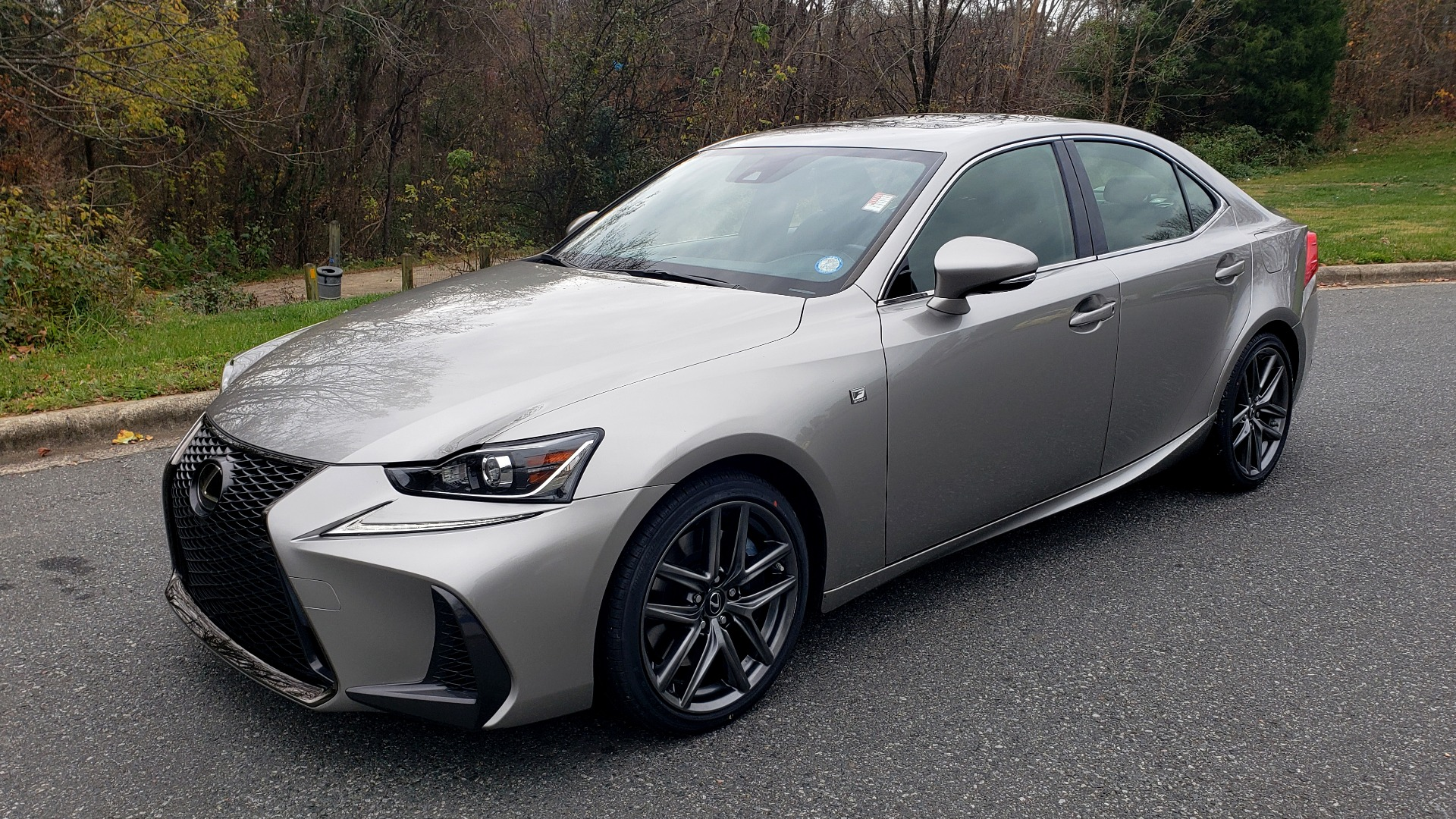 Used 2017 Lexus IS 200 TURBO F-SPORT / BSM / SUNROOF / VENT SEATS / REARVIEW for sale Sold at Formula Imports in Charlotte NC 28227 1