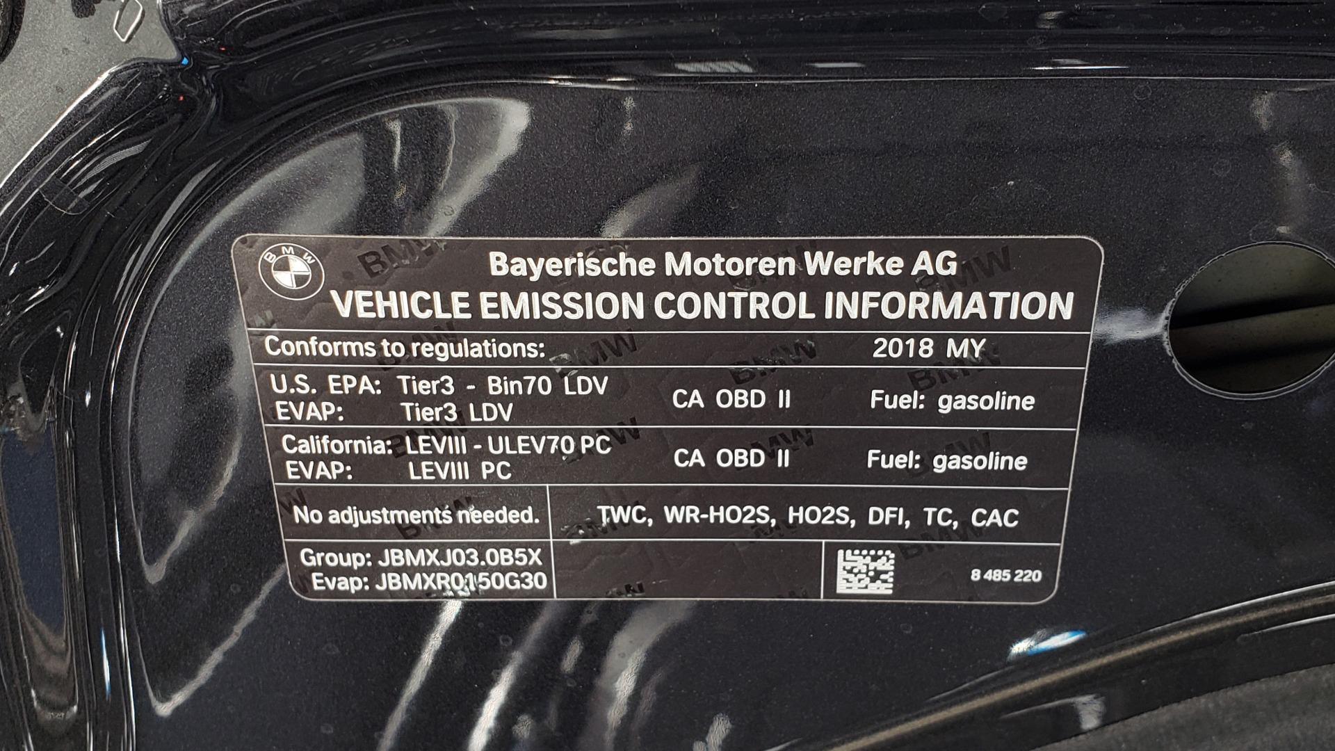 Used 2018 BMW 5 SERIES 540I M-SPORT / DRVR ASST / EXEC PKG / NAV / SUNROOF / HUD / REARVIEW for sale Sold at Formula Imports in Charlotte NC 28227 14