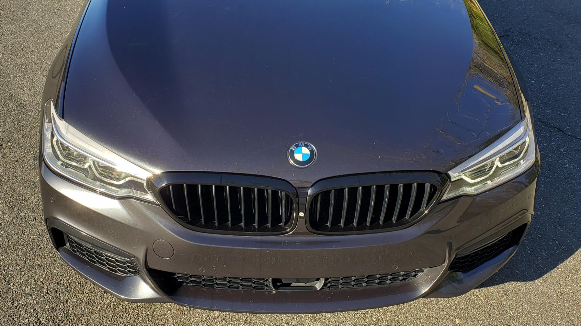 Used 2018 BMW 5 SERIES 540I M-SPORT / DRVR ASST / EXEC PKG / NAV / SUNROOF / HUD / REARVIEW for sale Sold at Formula Imports in Charlotte NC 28227 15