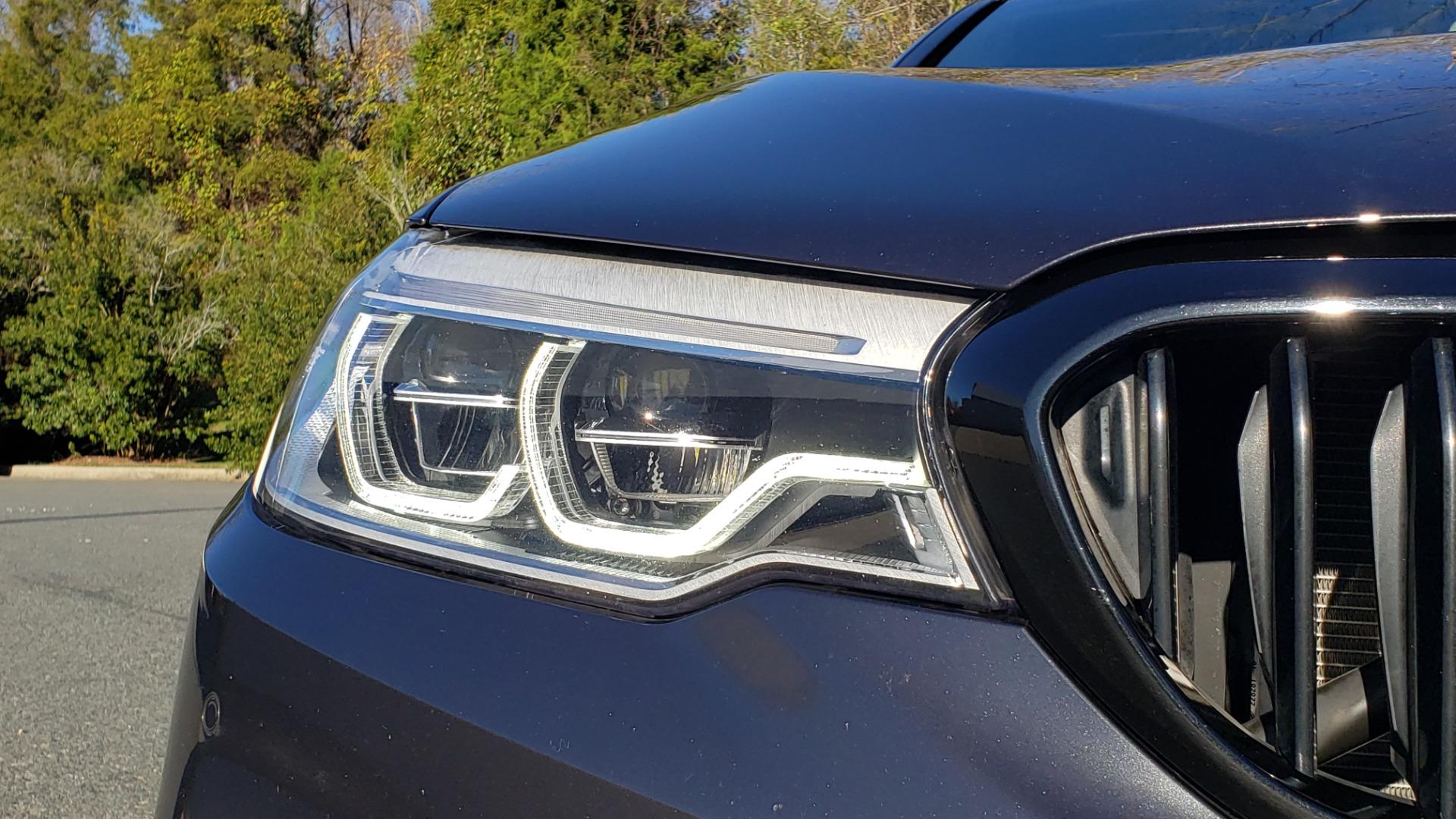 Used 2018 BMW 5 SERIES 540I M-SPORT / DRVR ASST / EXEC PKG / NAV / SUNROOF / HUD / REARVIEW for sale Sold at Formula Imports in Charlotte NC 28227 19
