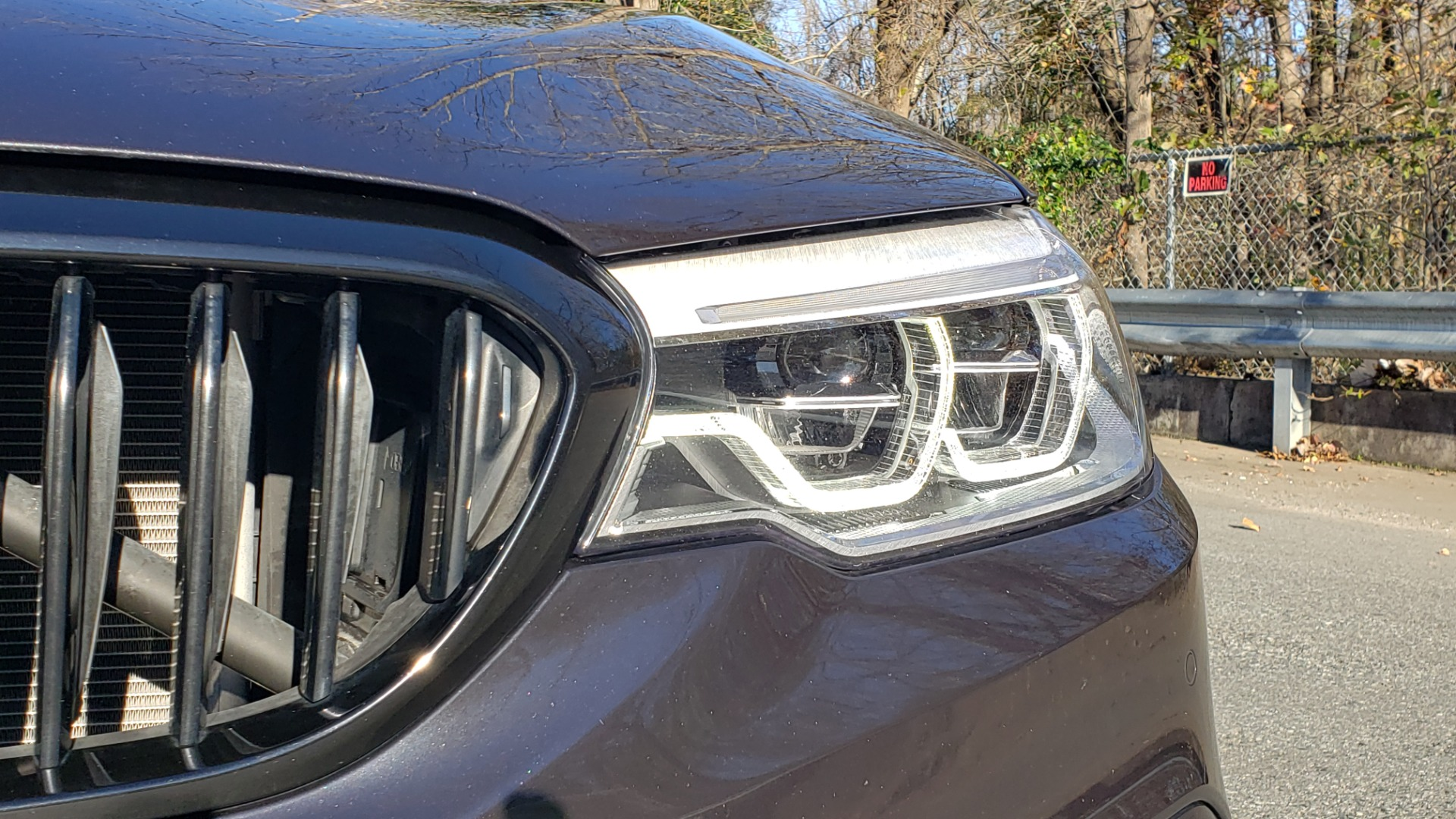 Used 2018 BMW 5 SERIES 540I M-SPORT / DRVR ASST / EXEC PKG / NAV / SUNROOF / HUD / REARVIEW for sale Sold at Formula Imports in Charlotte NC 28227 20