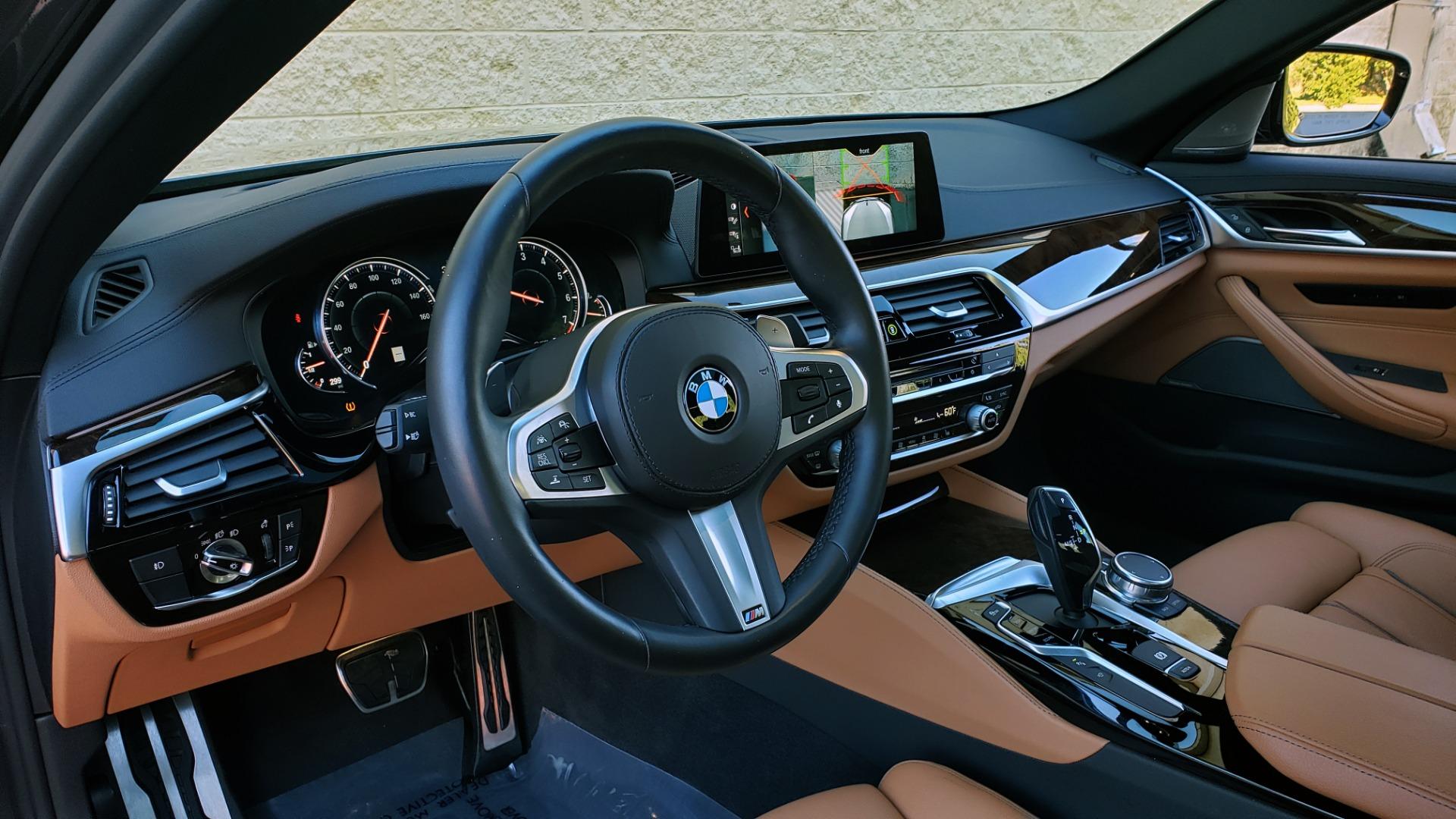 Used 2018 BMW 5 SERIES 540I M-SPORT / DRVR ASST / EXEC PKG / NAV / SUNROOF / HUD / REARVIEW for sale Sold at Formula Imports in Charlotte NC 28227 37